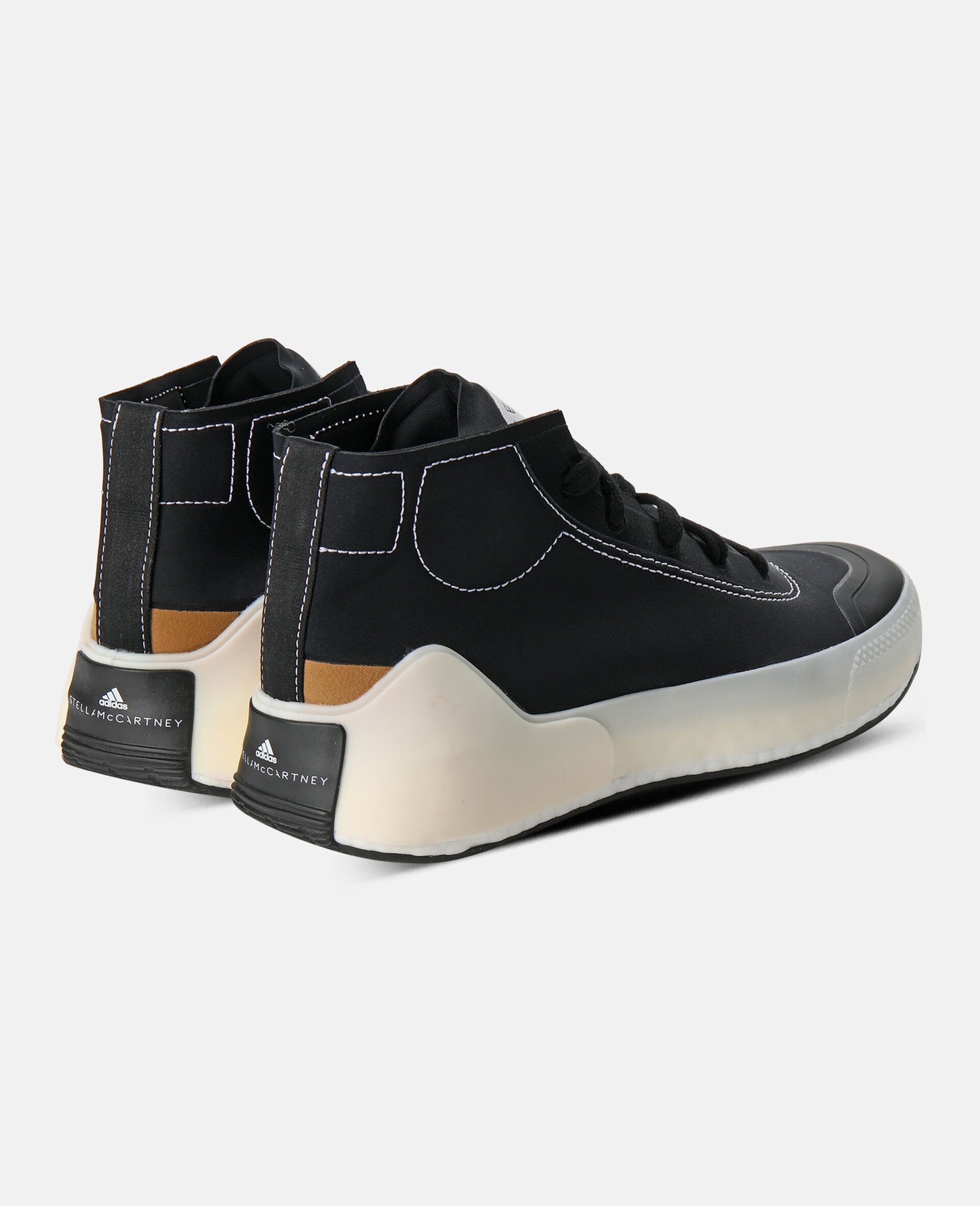 Schwarze Boost Treino Sneaker-Schwarz-large image number 6
