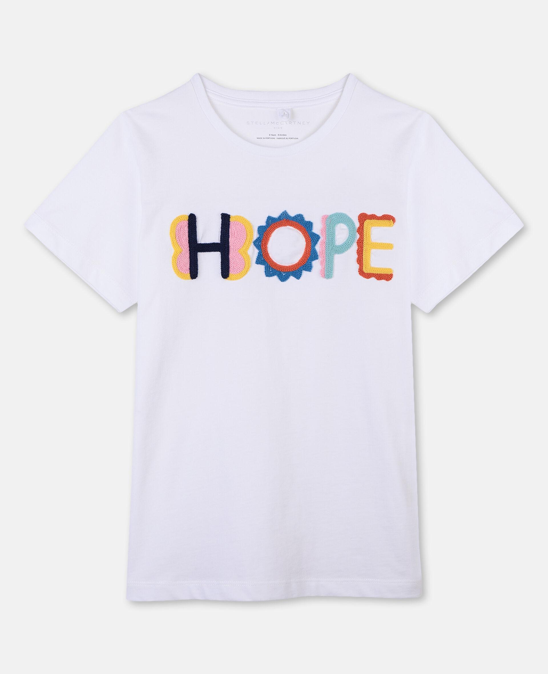 Hope棉质 T 恤-白色-large image number 0