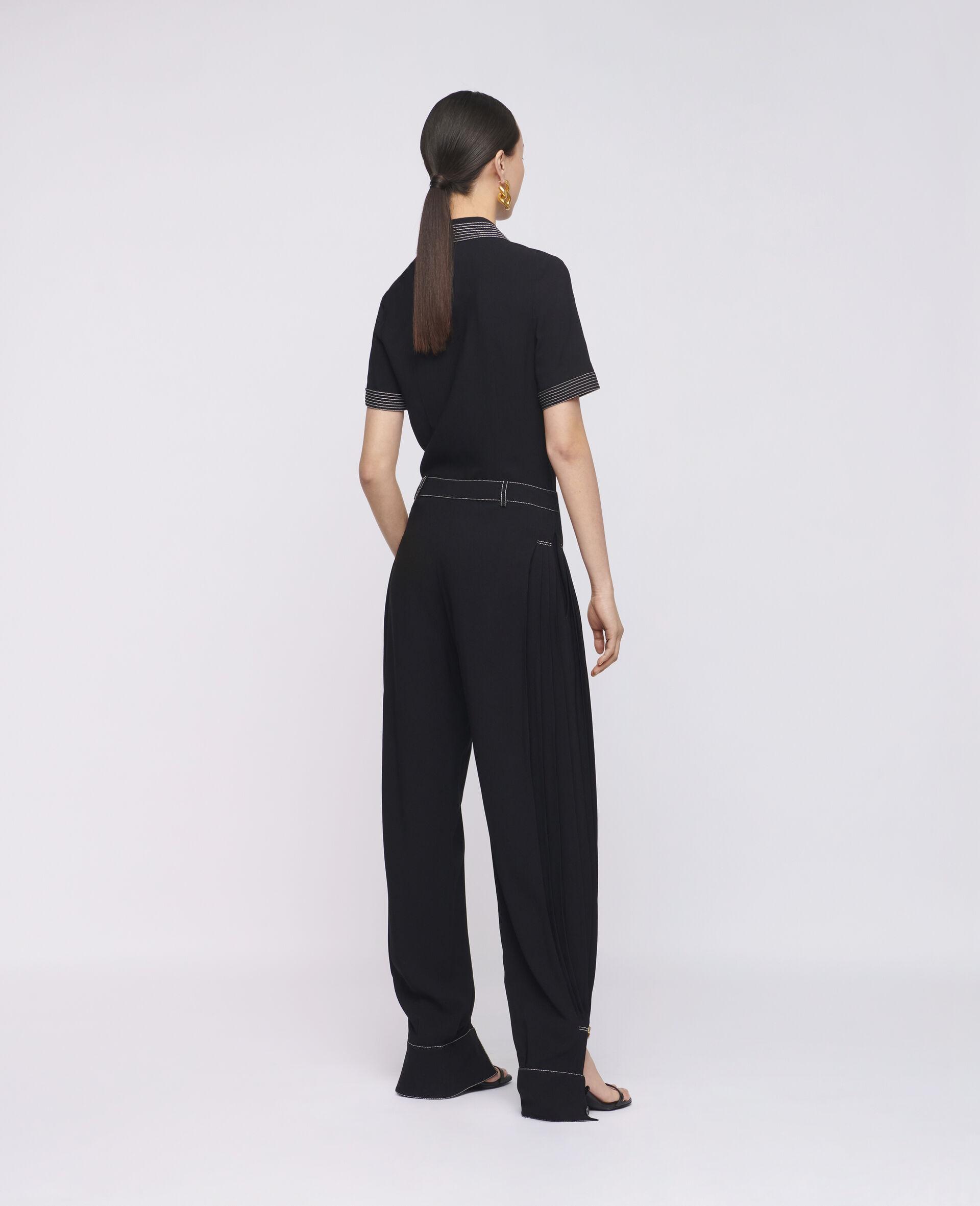 Nancy 裤装-黑色-large image number 2