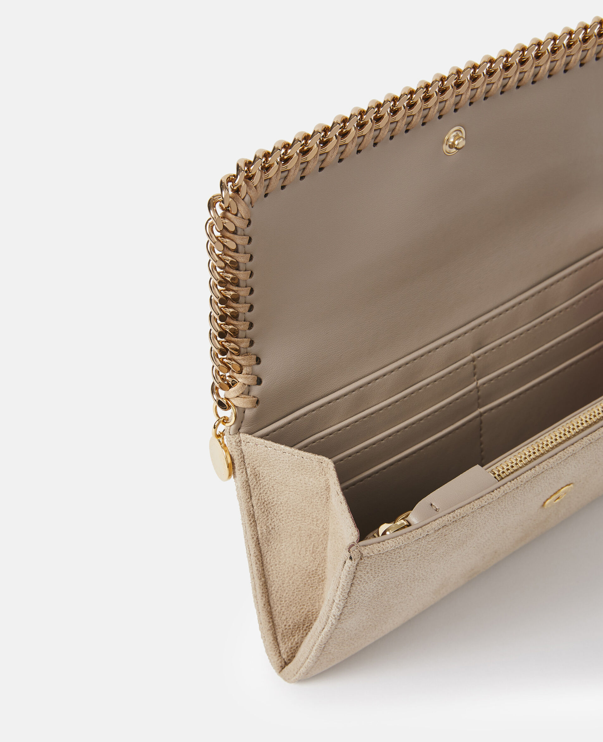 Falabella Continental Wallet-Beige-large image number 2