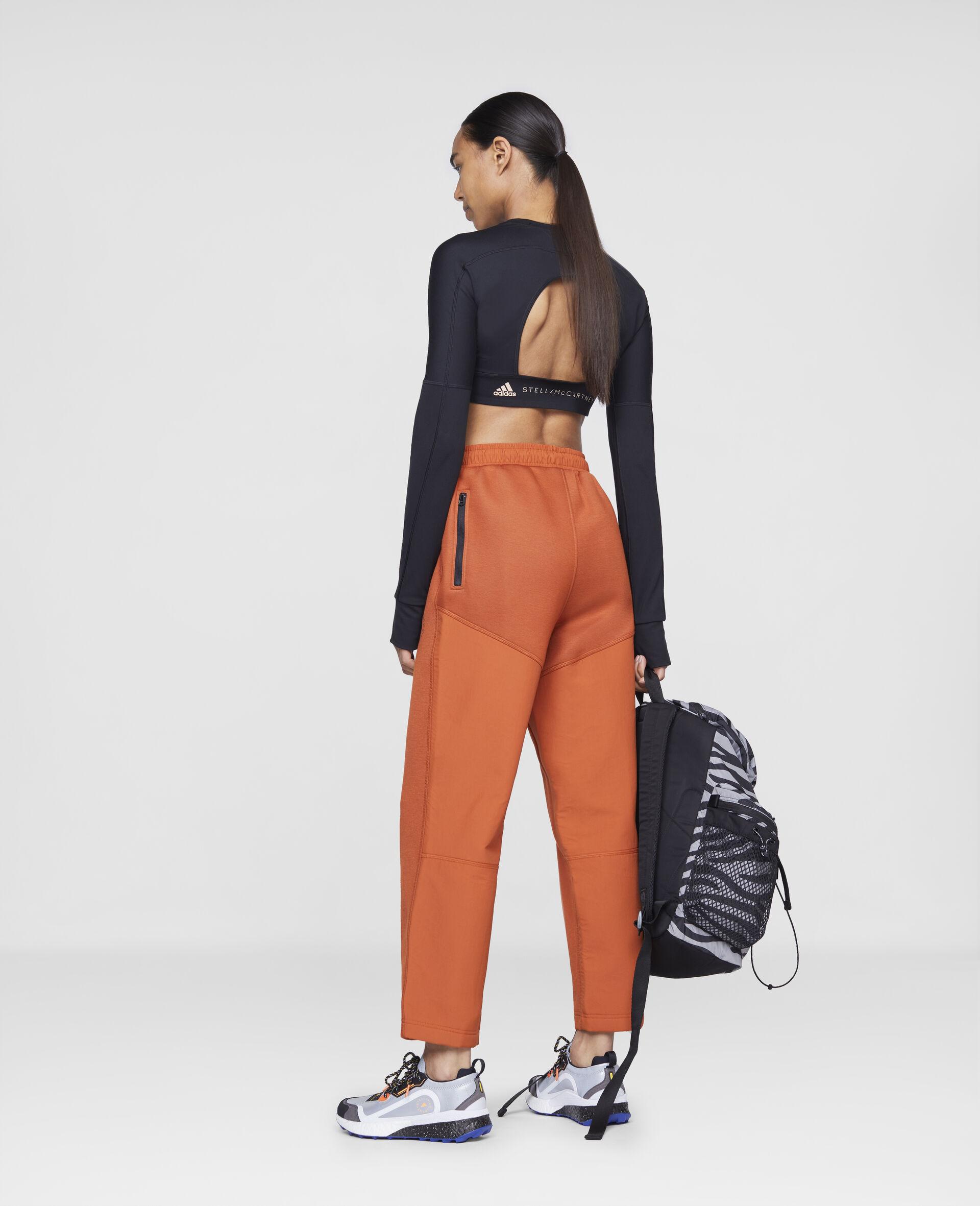 Burnt Brick Track Pants-Orange-large image number 2