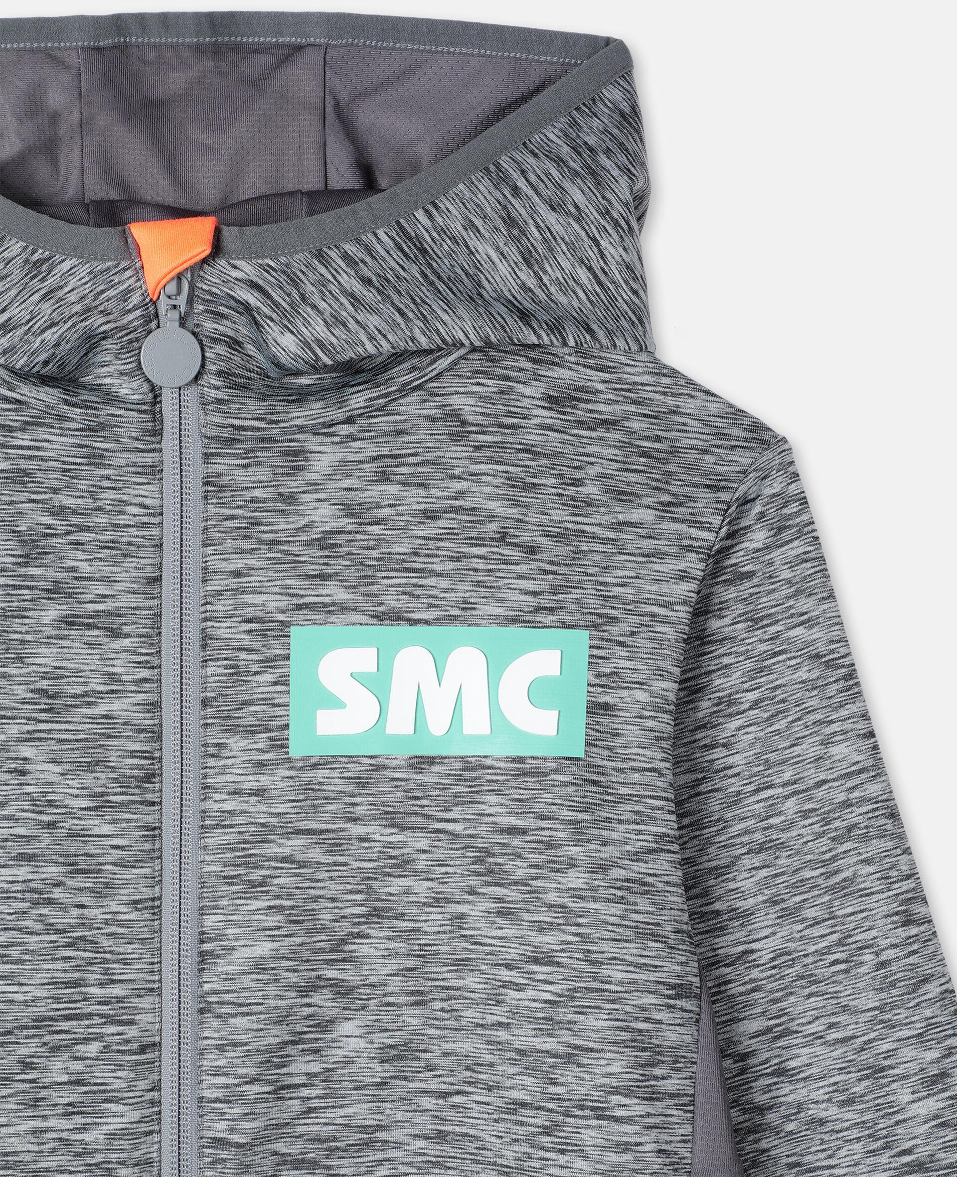 Space Dye Active Hoodie-Grey-large image number 1