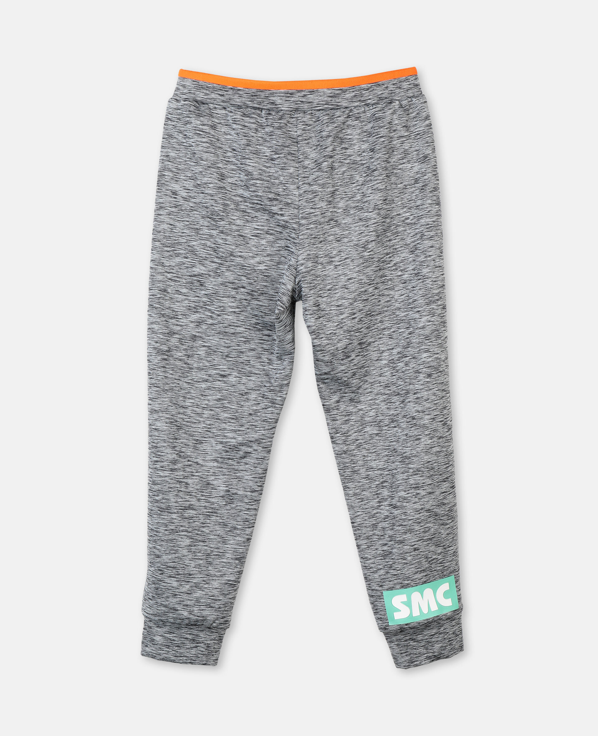 Space Dye Active Joggers -Grey-large image number 3