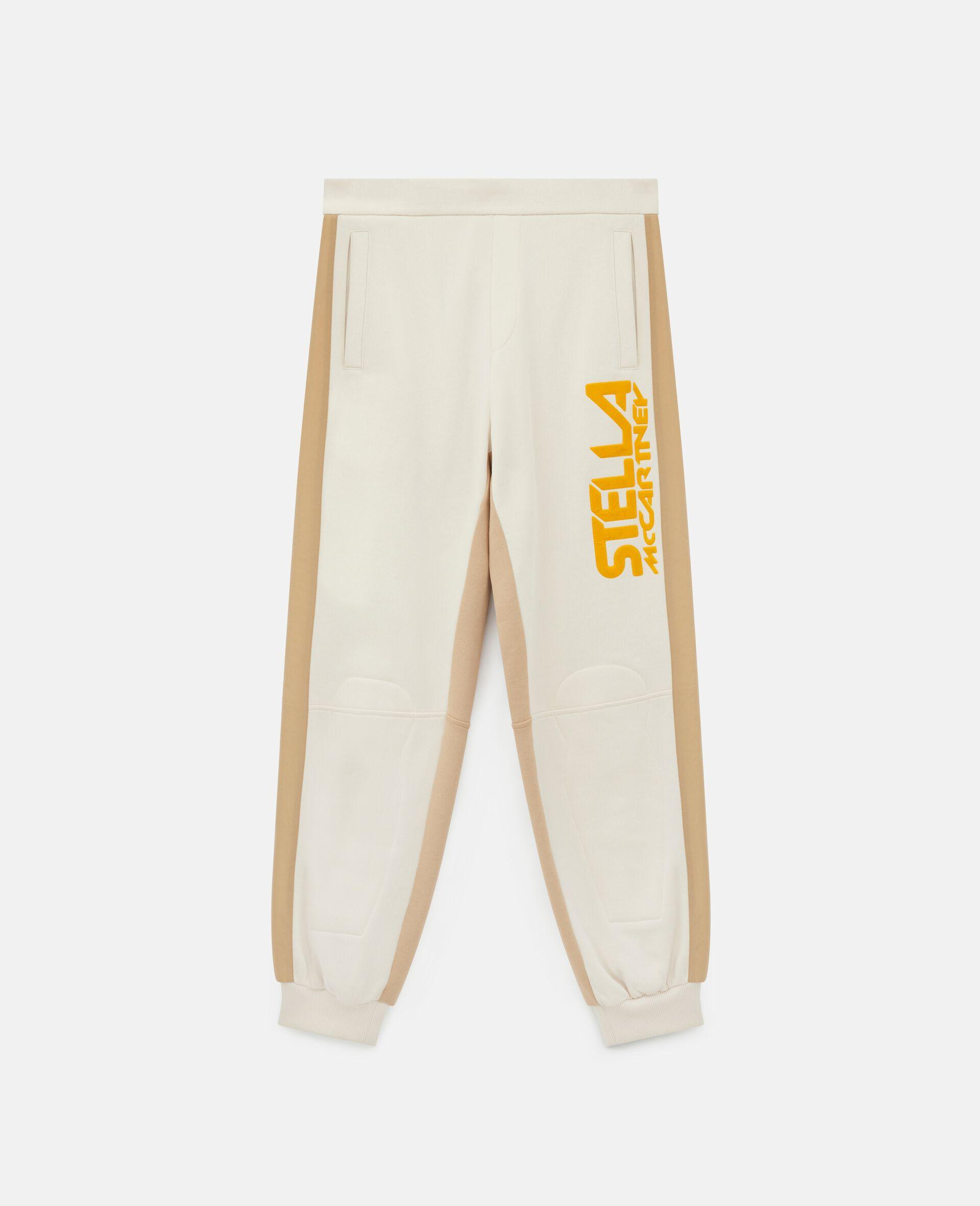 Pantalon à logo Stella McCartney -Blanc-large image number 0
