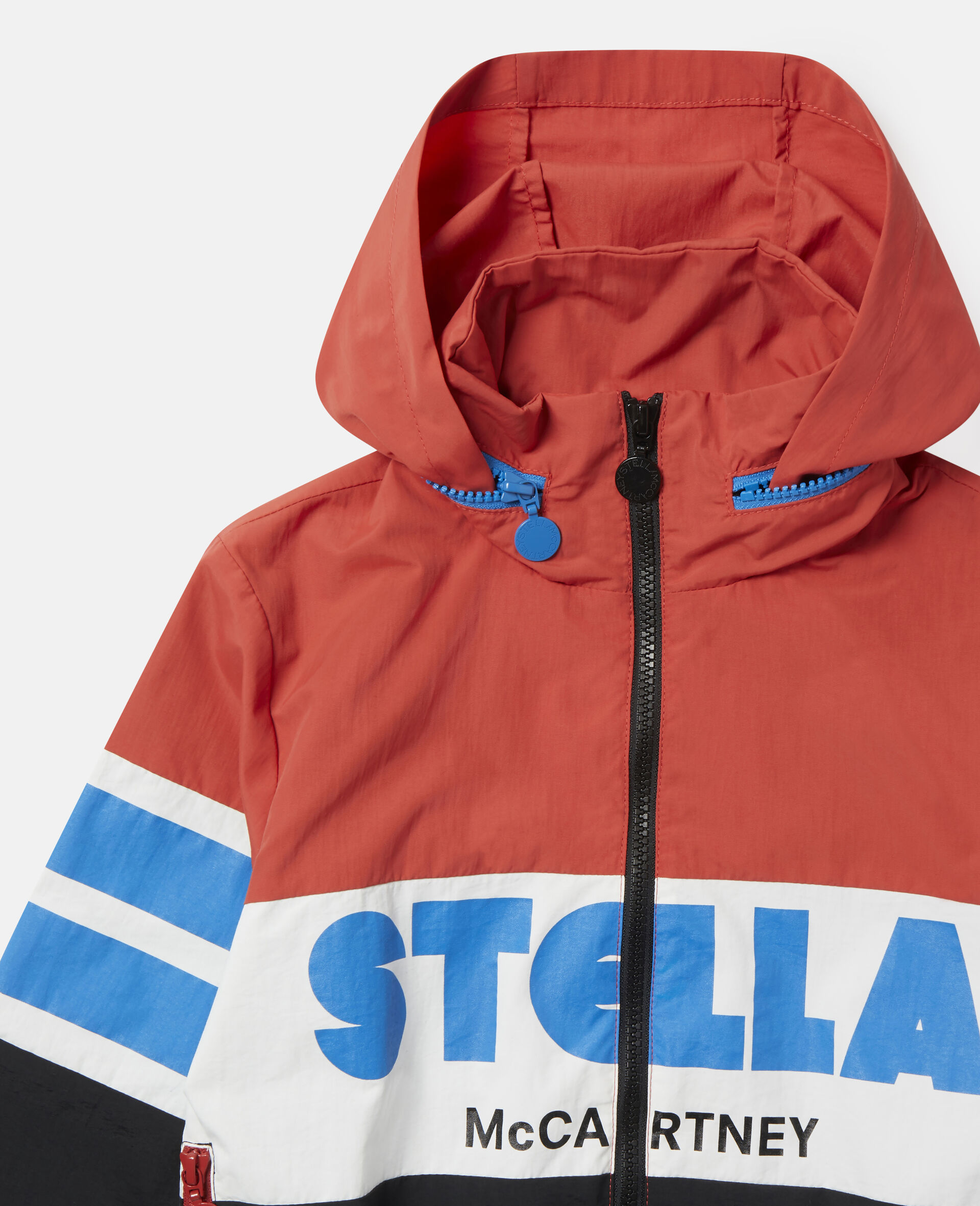 Colourblock Logo Jacket-Multicolour-large image number 1