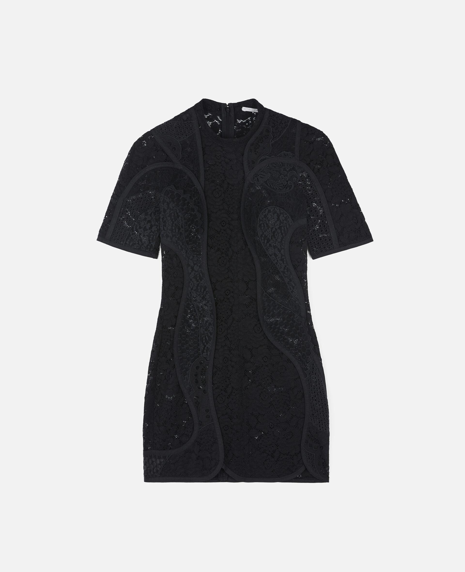 Edith Mini Dress-Black-large image number 0