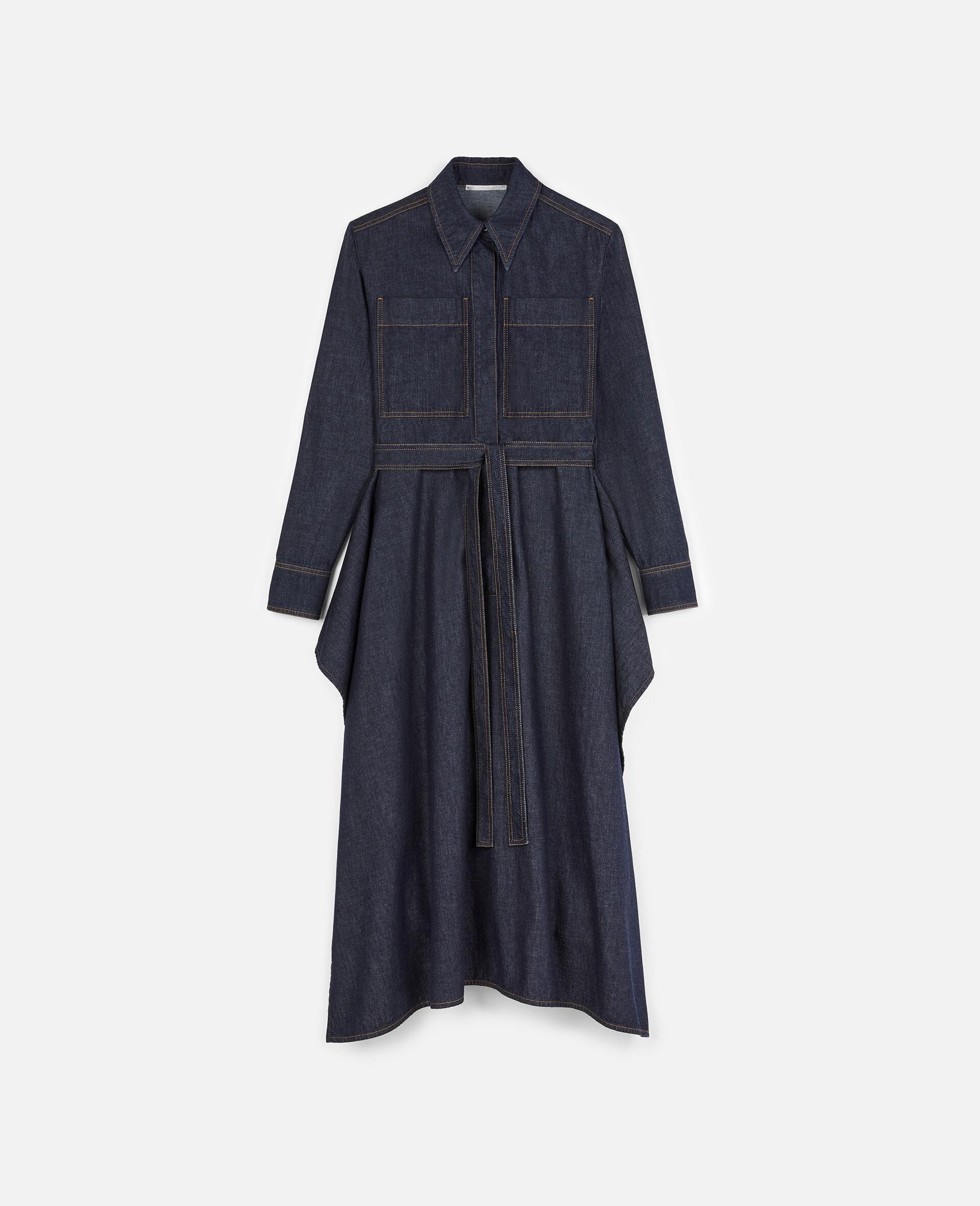 Riley Denim Dress -Blue-large image number 0
