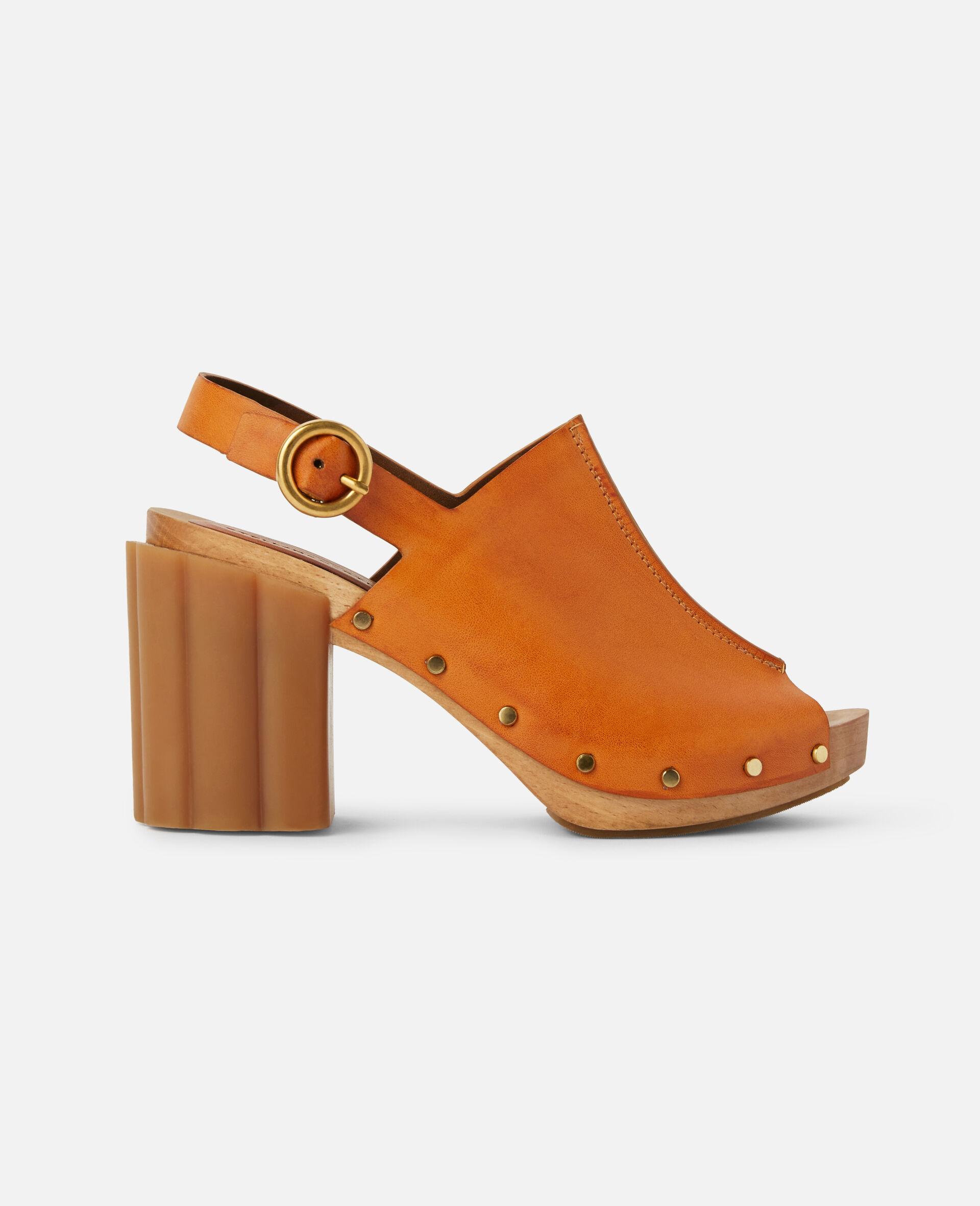 Daisy Stud Hardware Sandals-Black-large image number 0