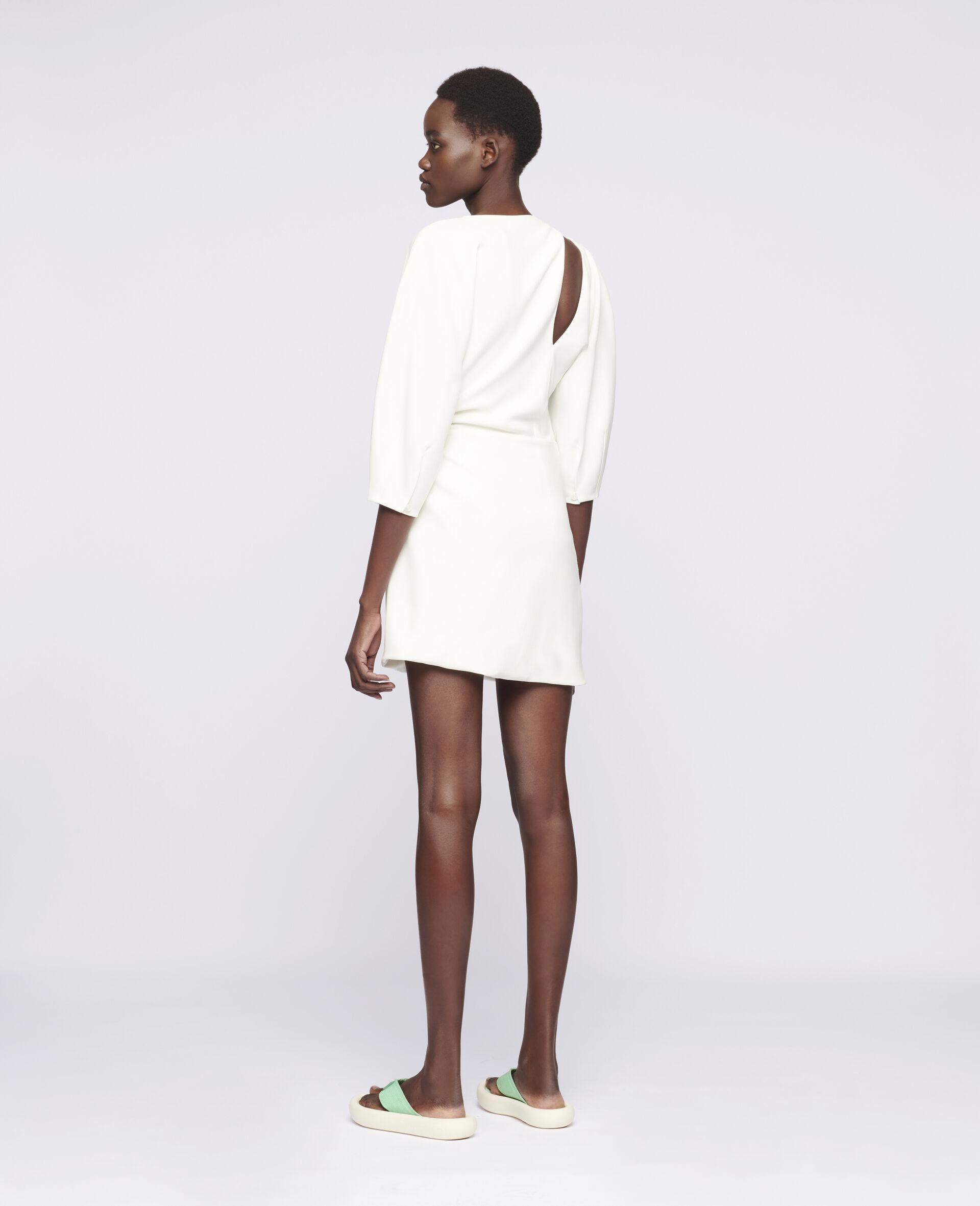 Alison Mini Dress-White-large image number 2