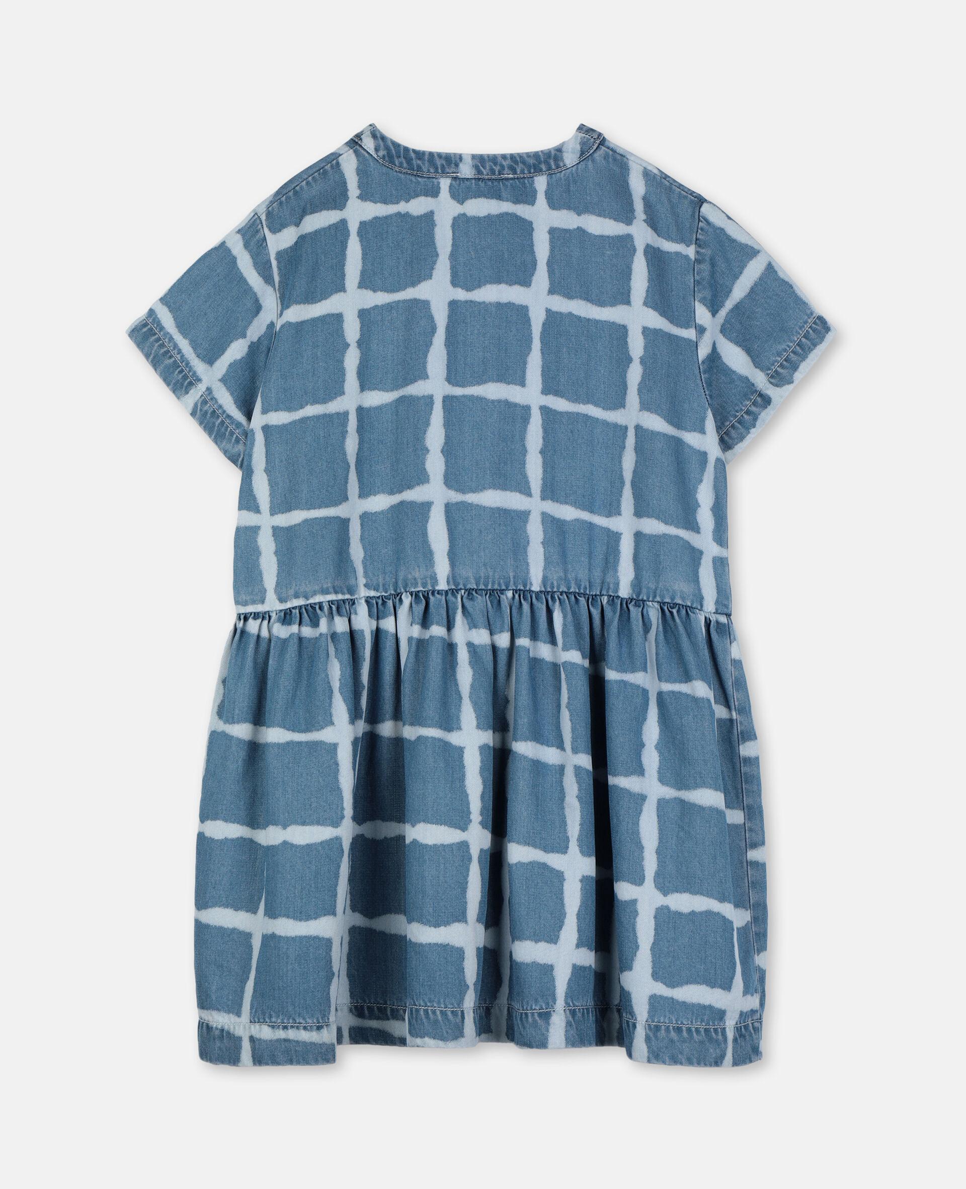 Tencel Denim Dress-Multicolour-large image number 3