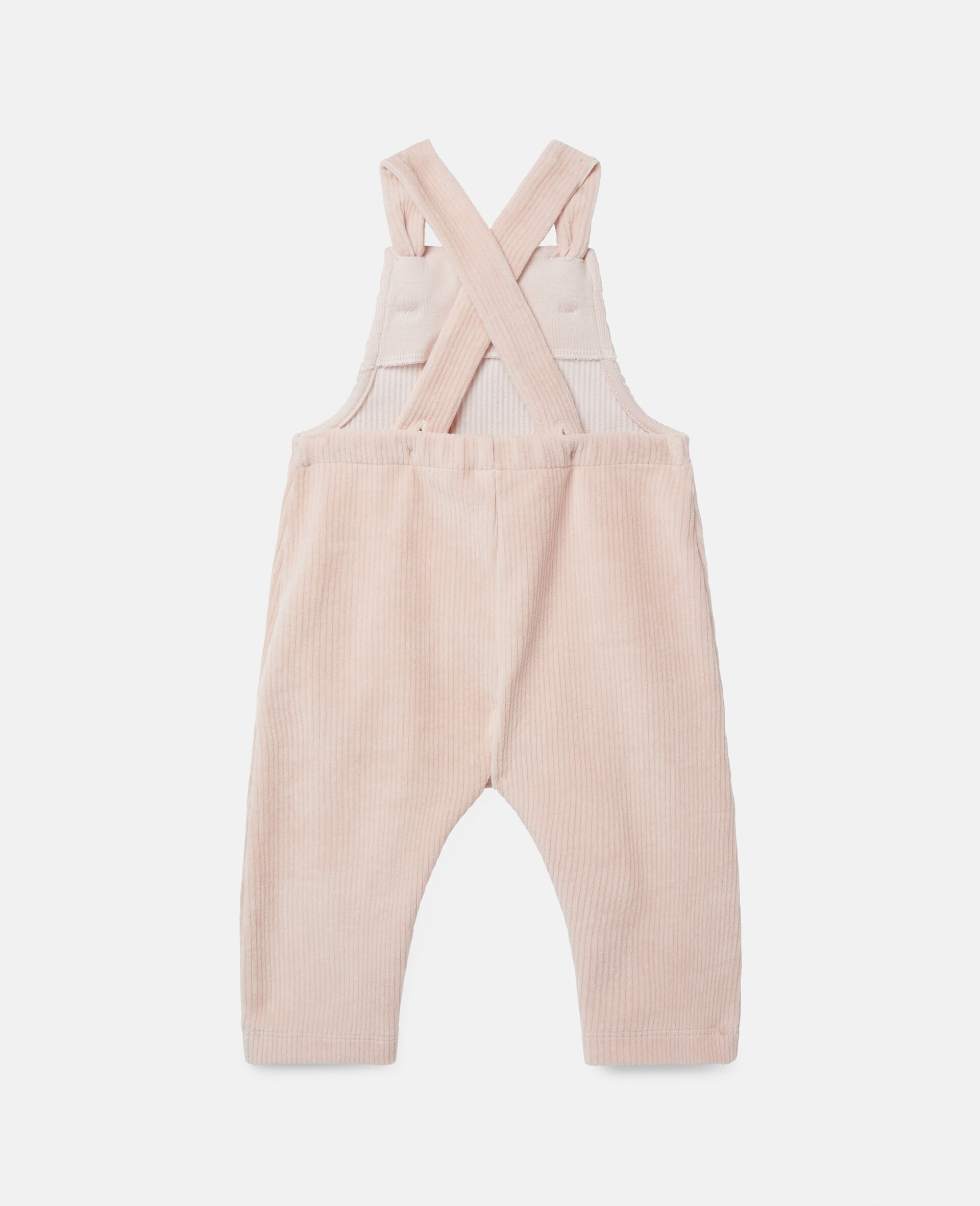 Corduroy Baby Jumpsuit-Pink-large image number 3