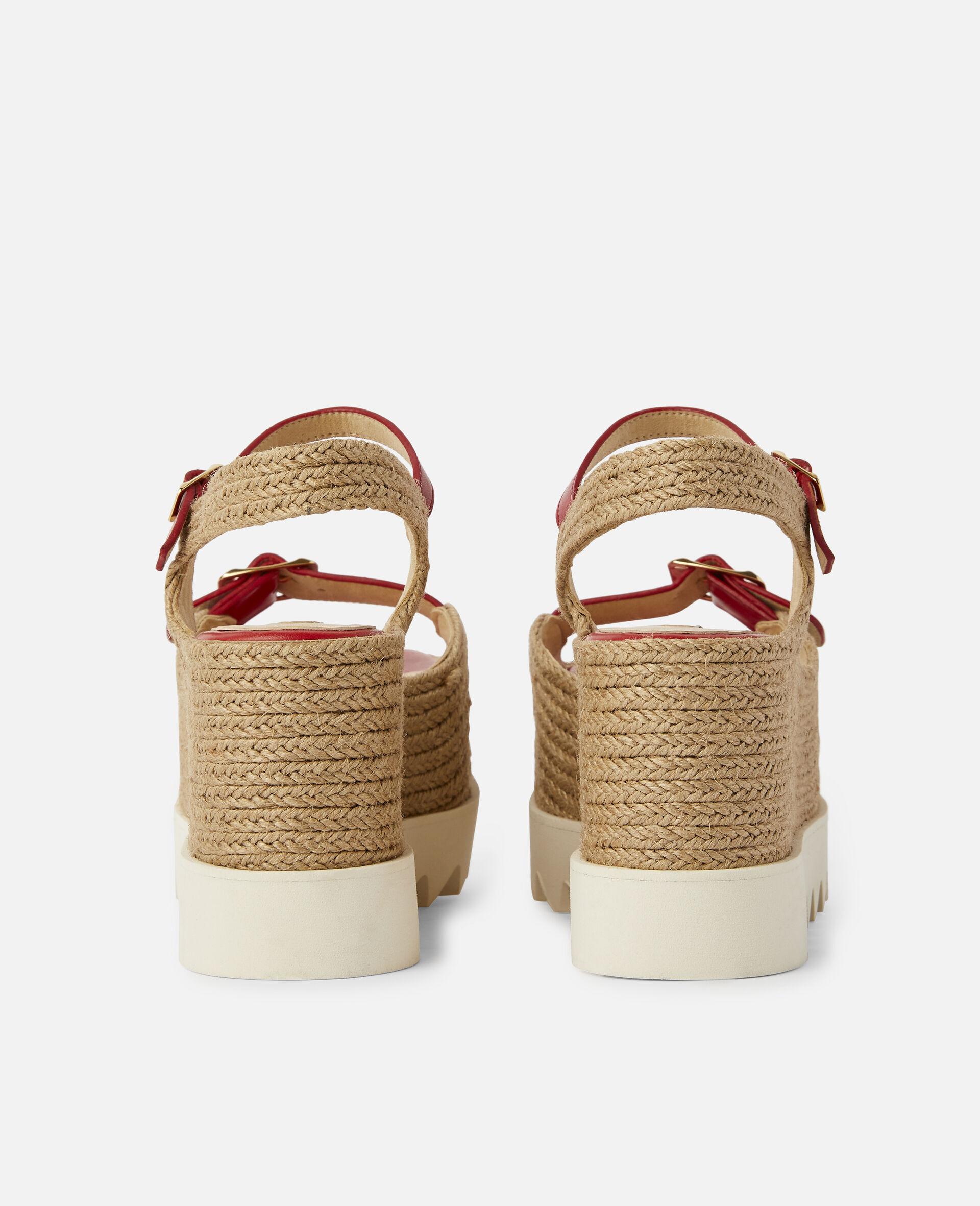 Elyse Platform Sandals -Red-large image number 2