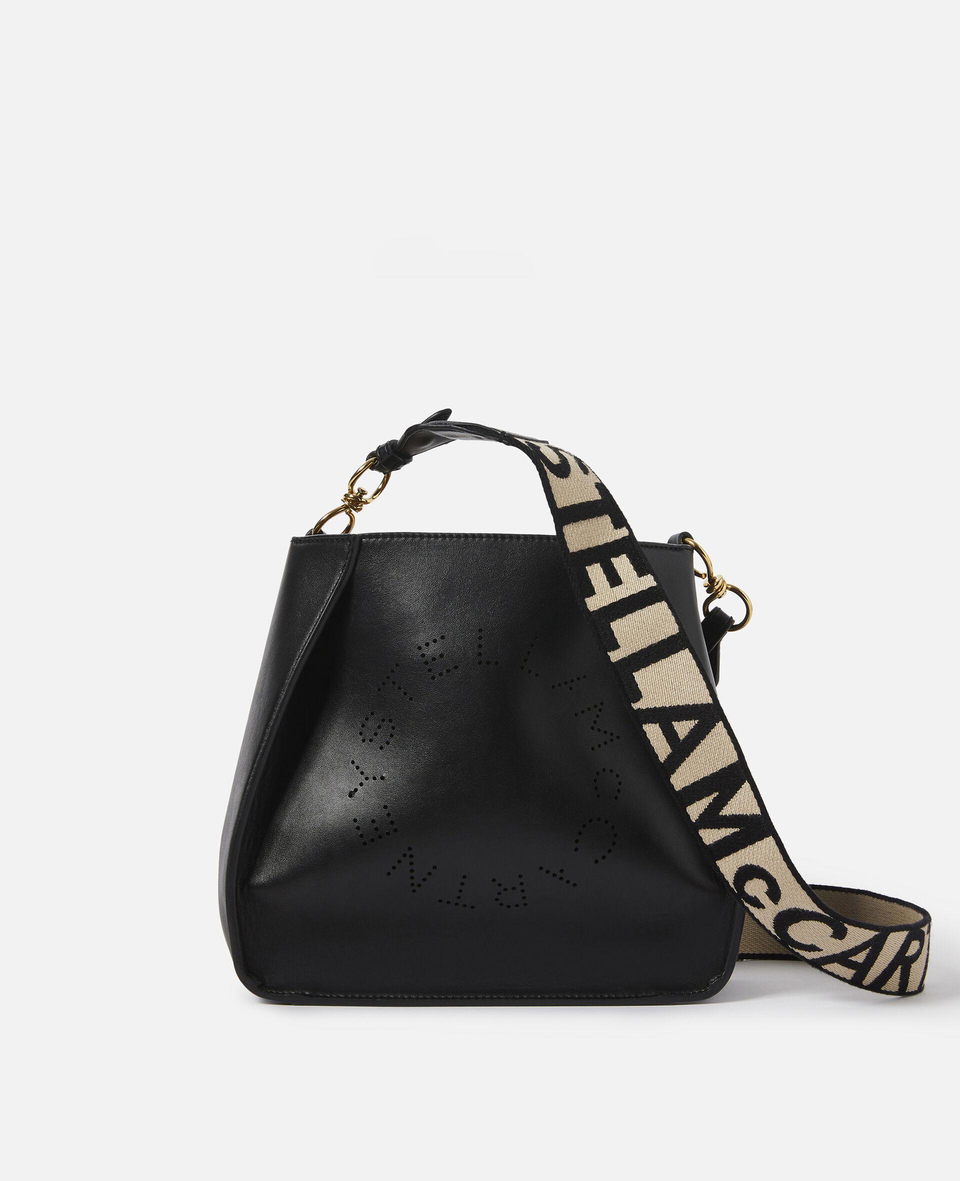 Micro Stella Logo Shoulder Bag-Black-large image number 0