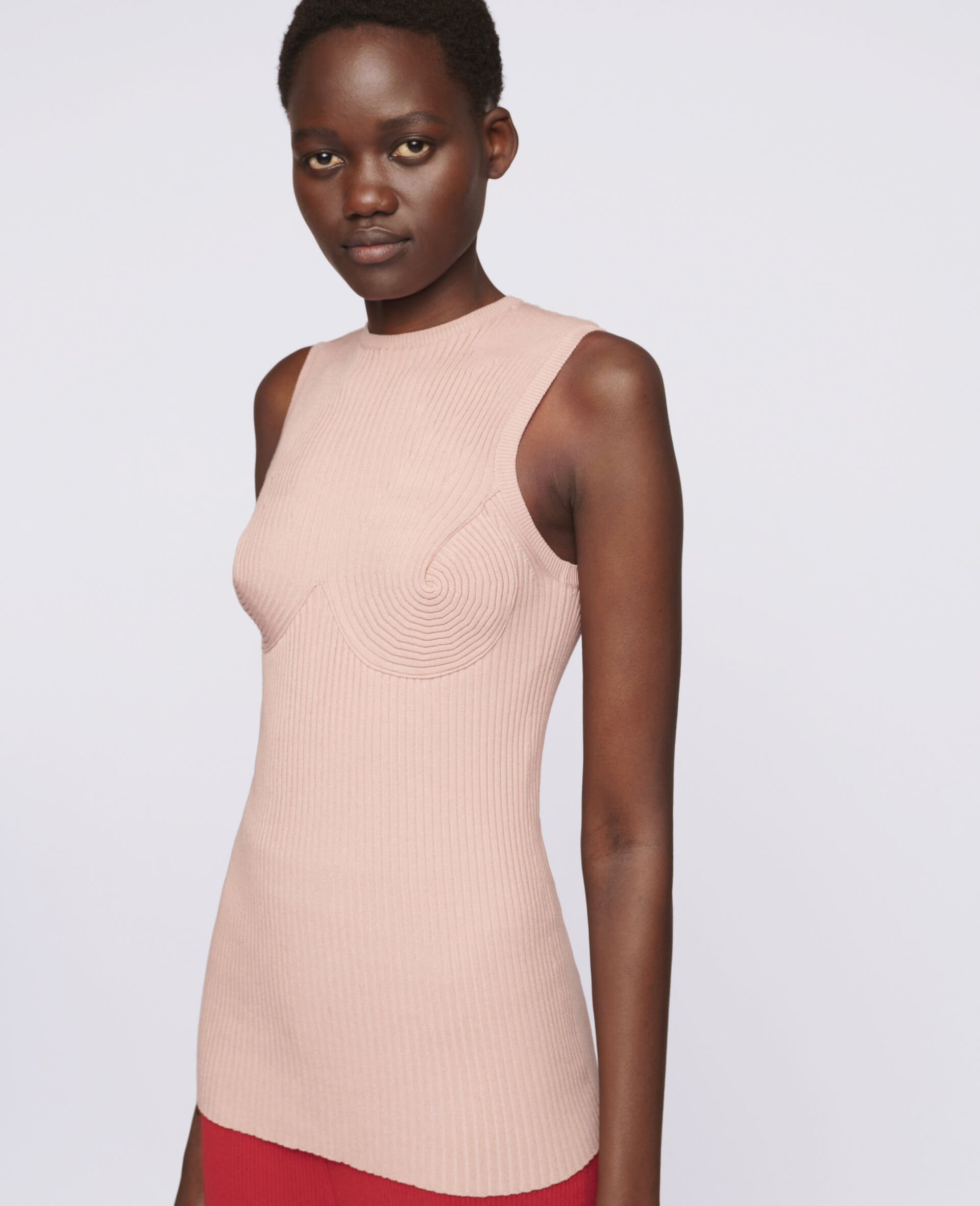 Bustier Shaping Top-Pink-large image number 3