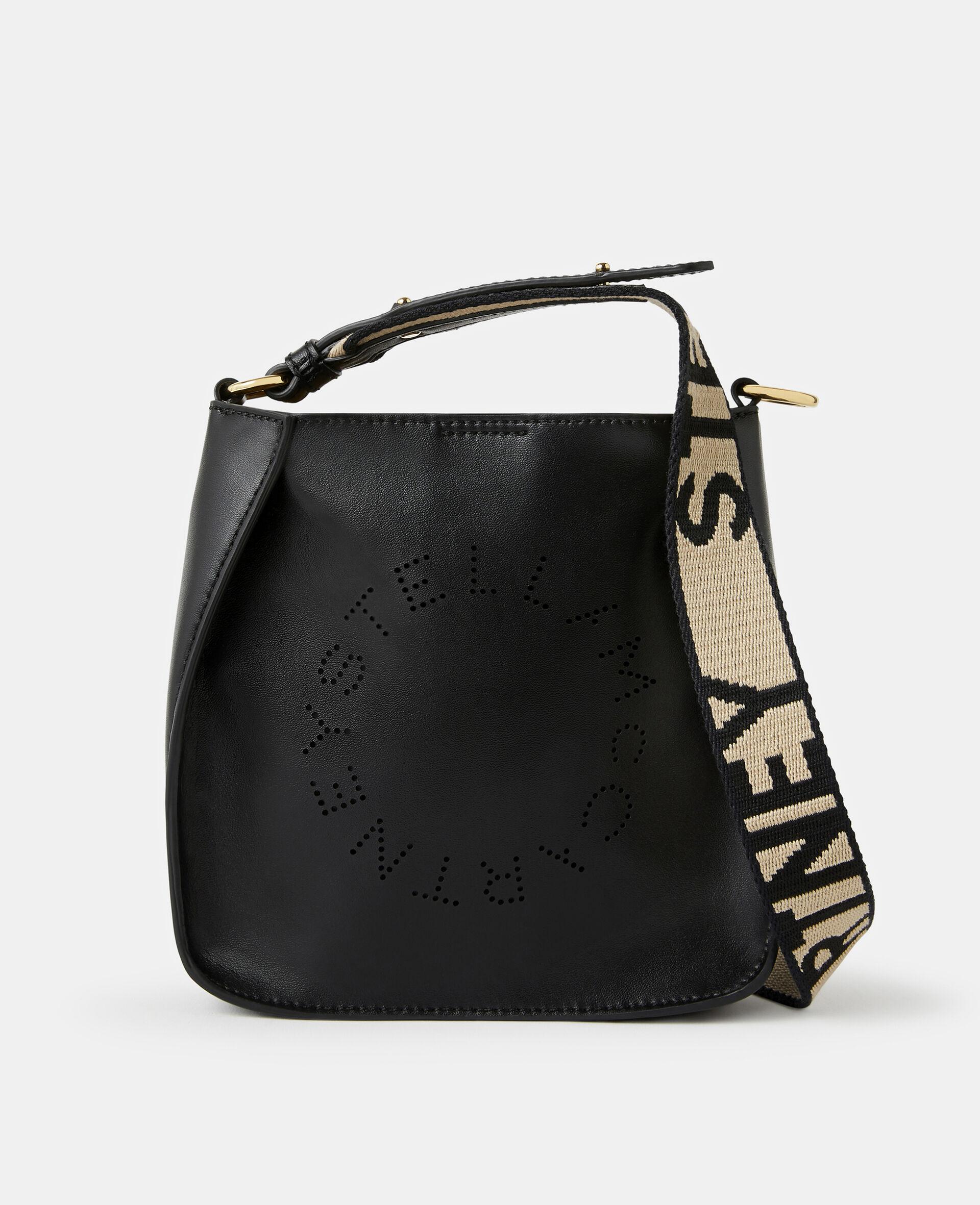 Mini-sac porté épaule logo Stella -Noir-large image number 0