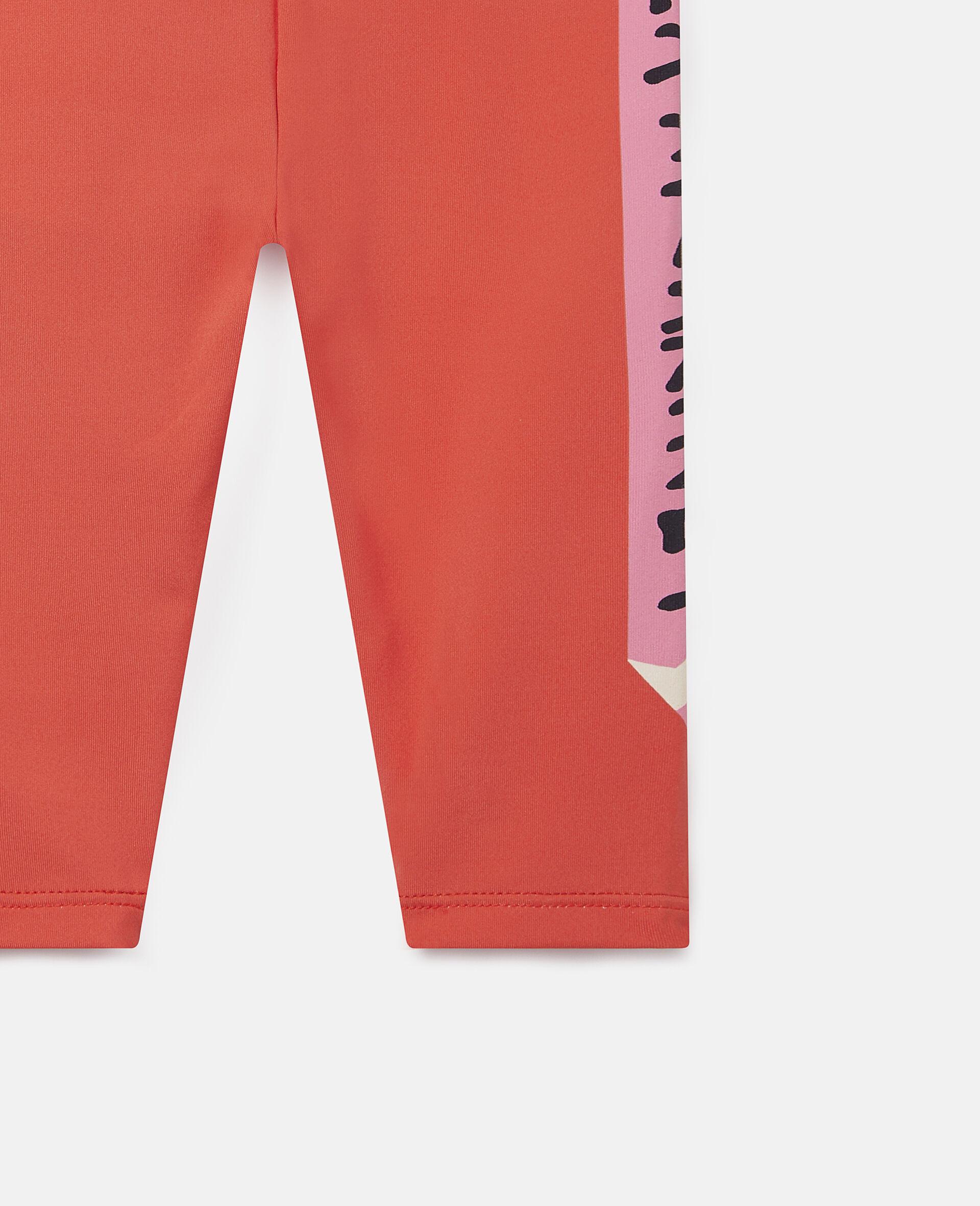 Leggings mit Stella-Buntstift-Print-Rot-large image number 1