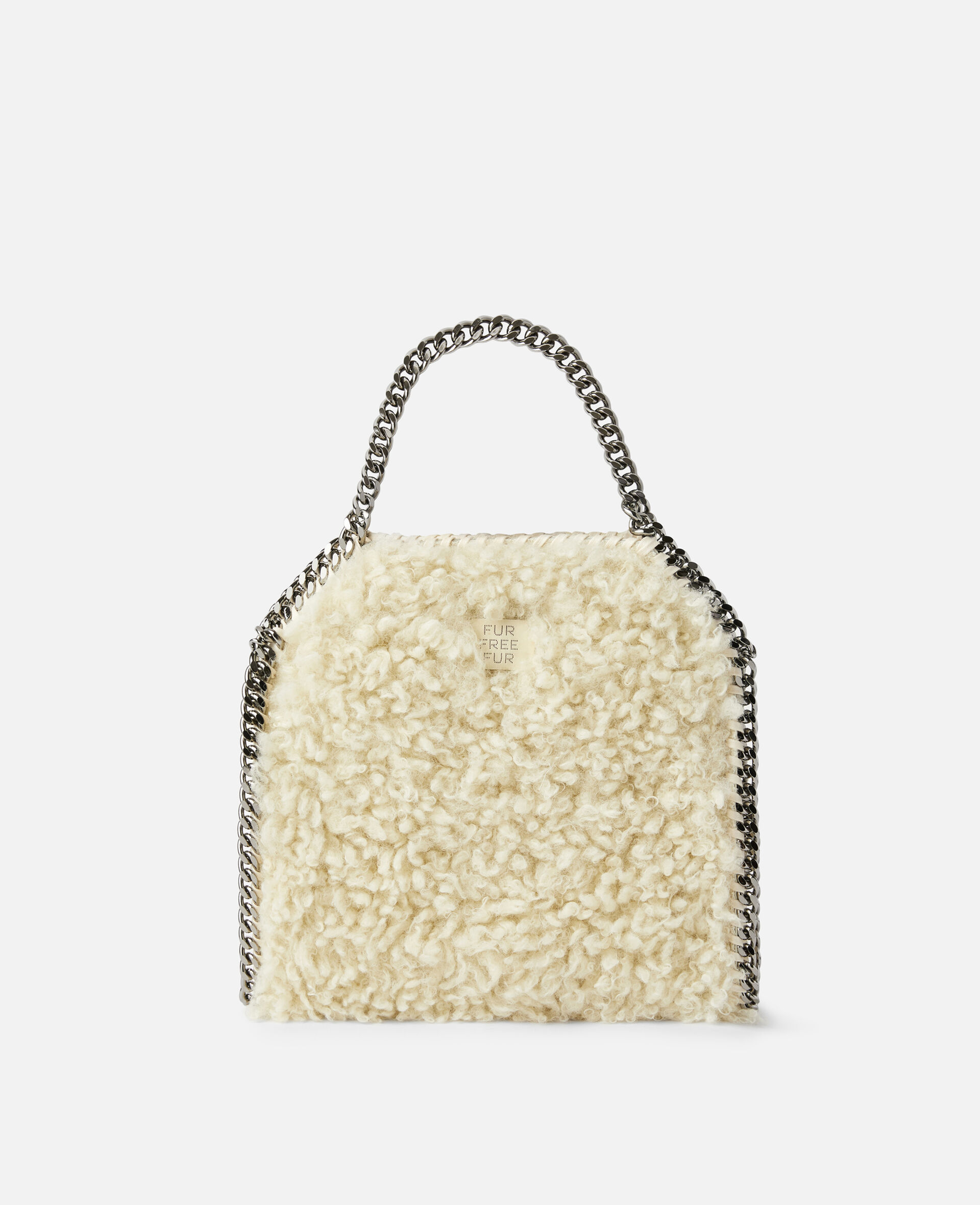 Falabella FFF Mini Tote-White-large image number 2