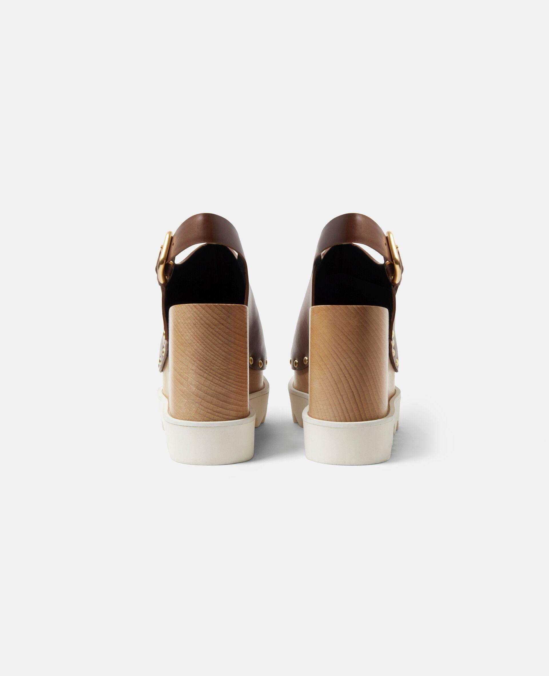 Elyse Stud Hardware Sandals-Brown-large image number 2