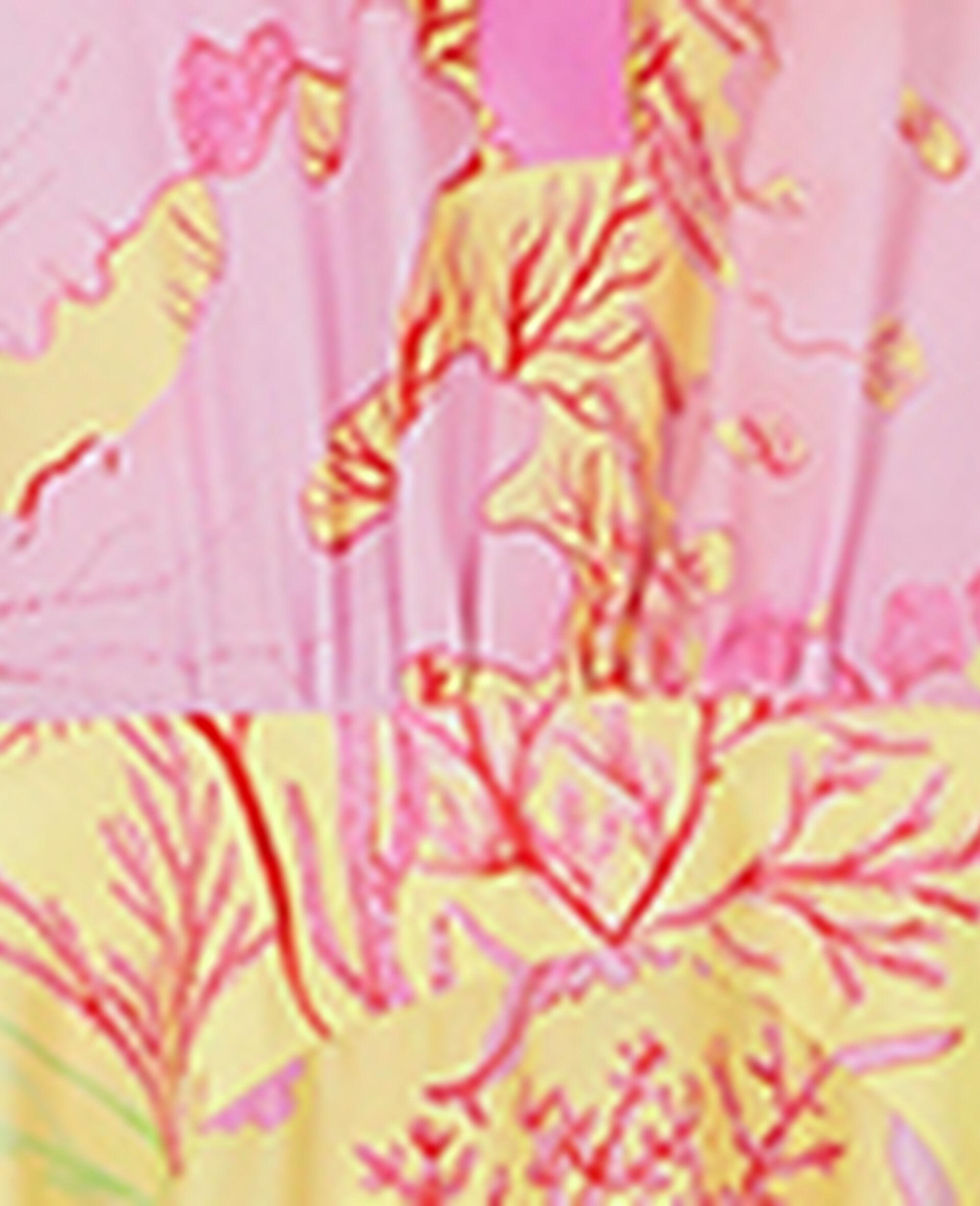Alyssa Silk Dress-Multicolour-large image number 4