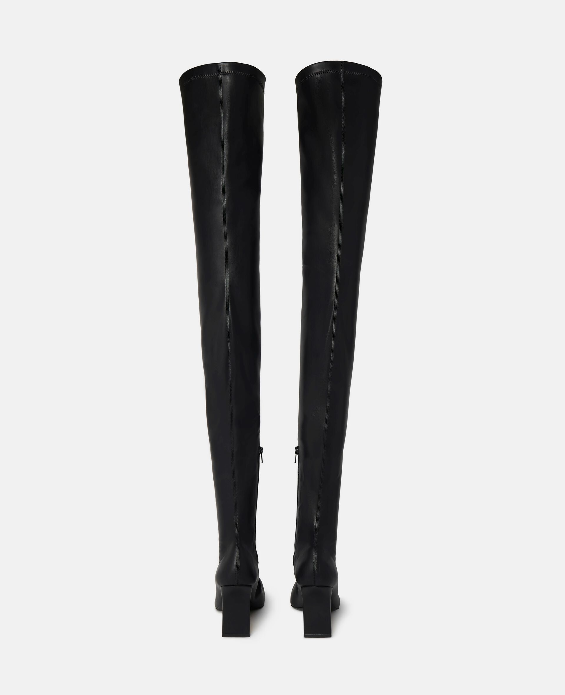 Over-The-Knee Ivy Boots-Black-large image number 2