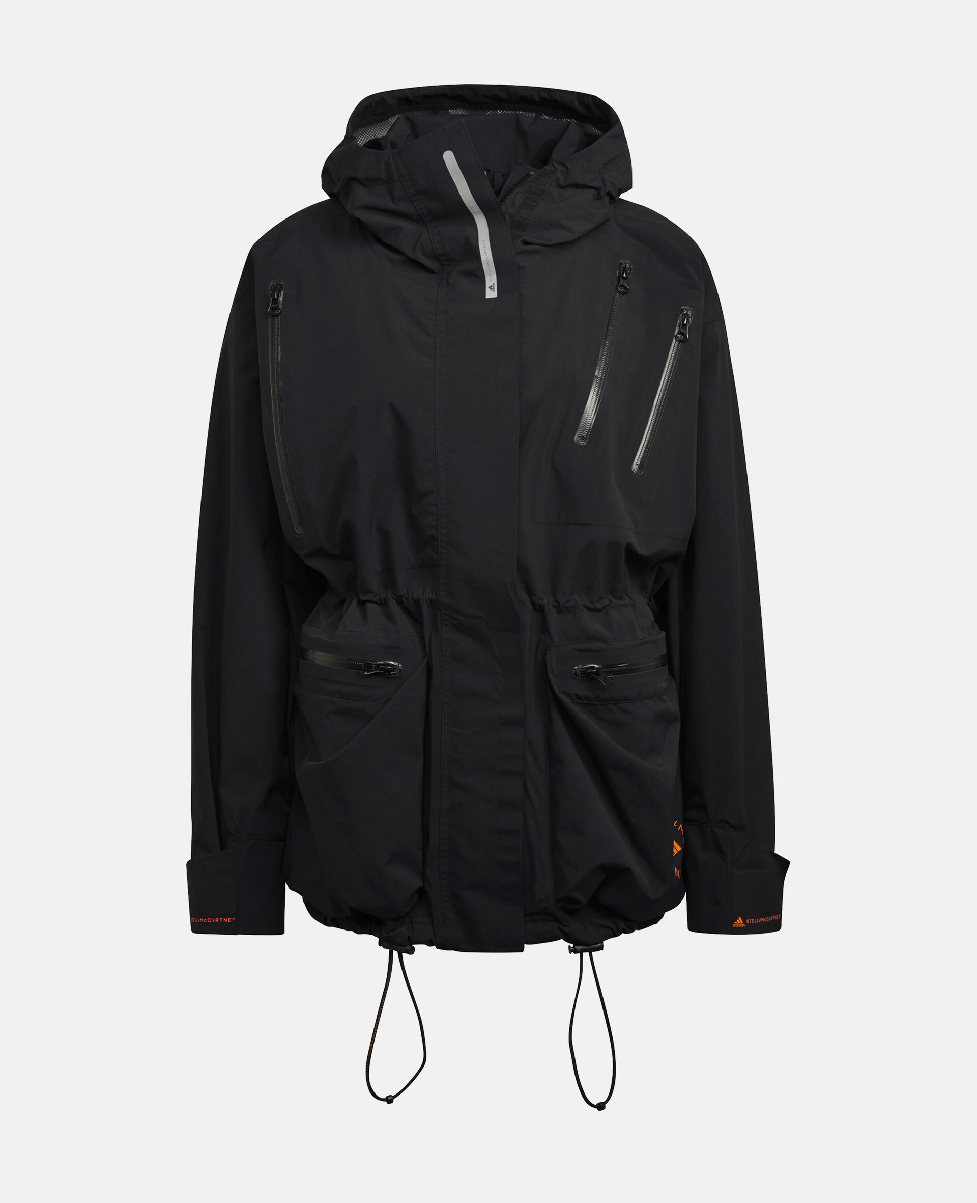 Black Gore-Tex Training Jacket-Black-large image number 0