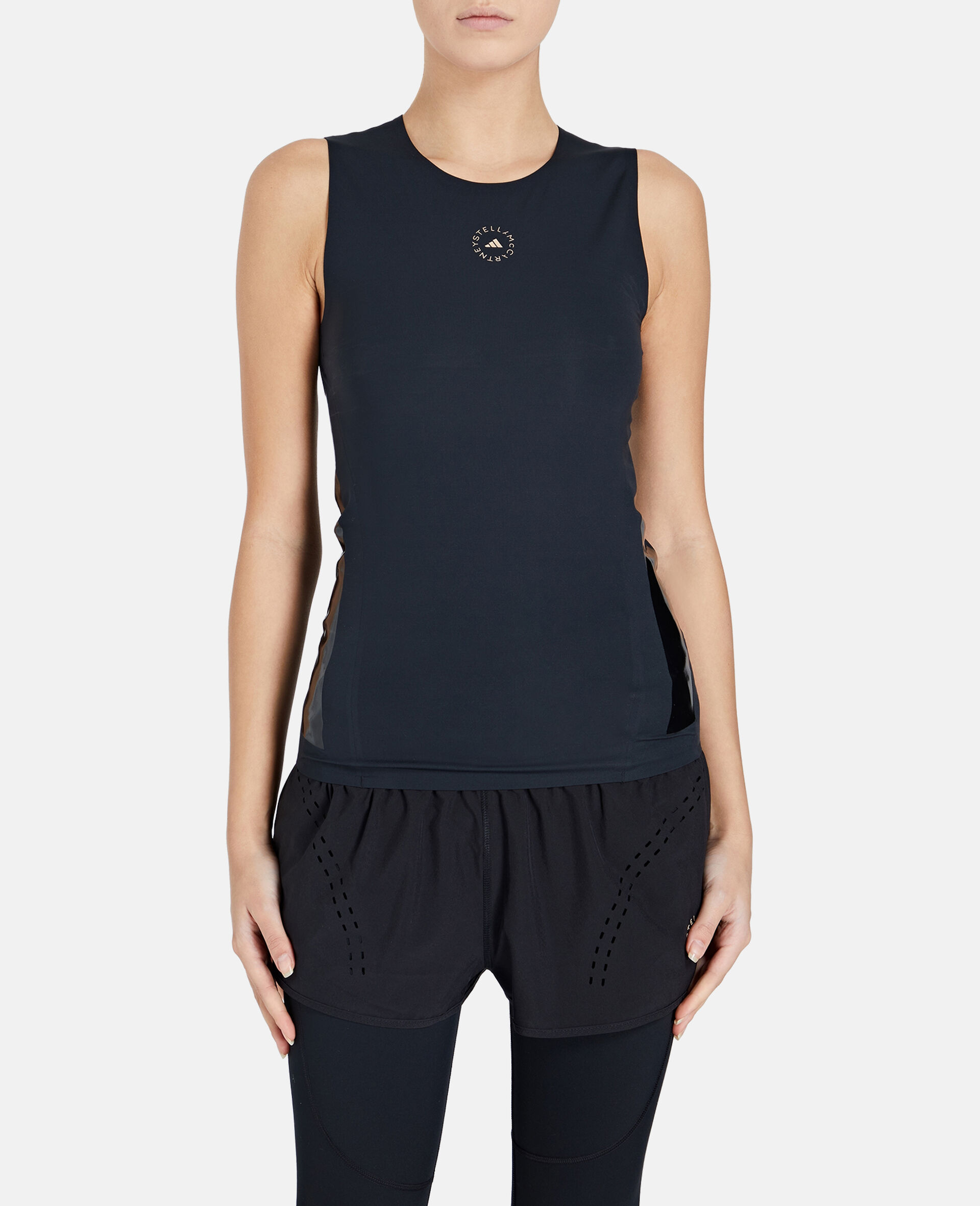 Black Training Tank Top-Black-large image number 4