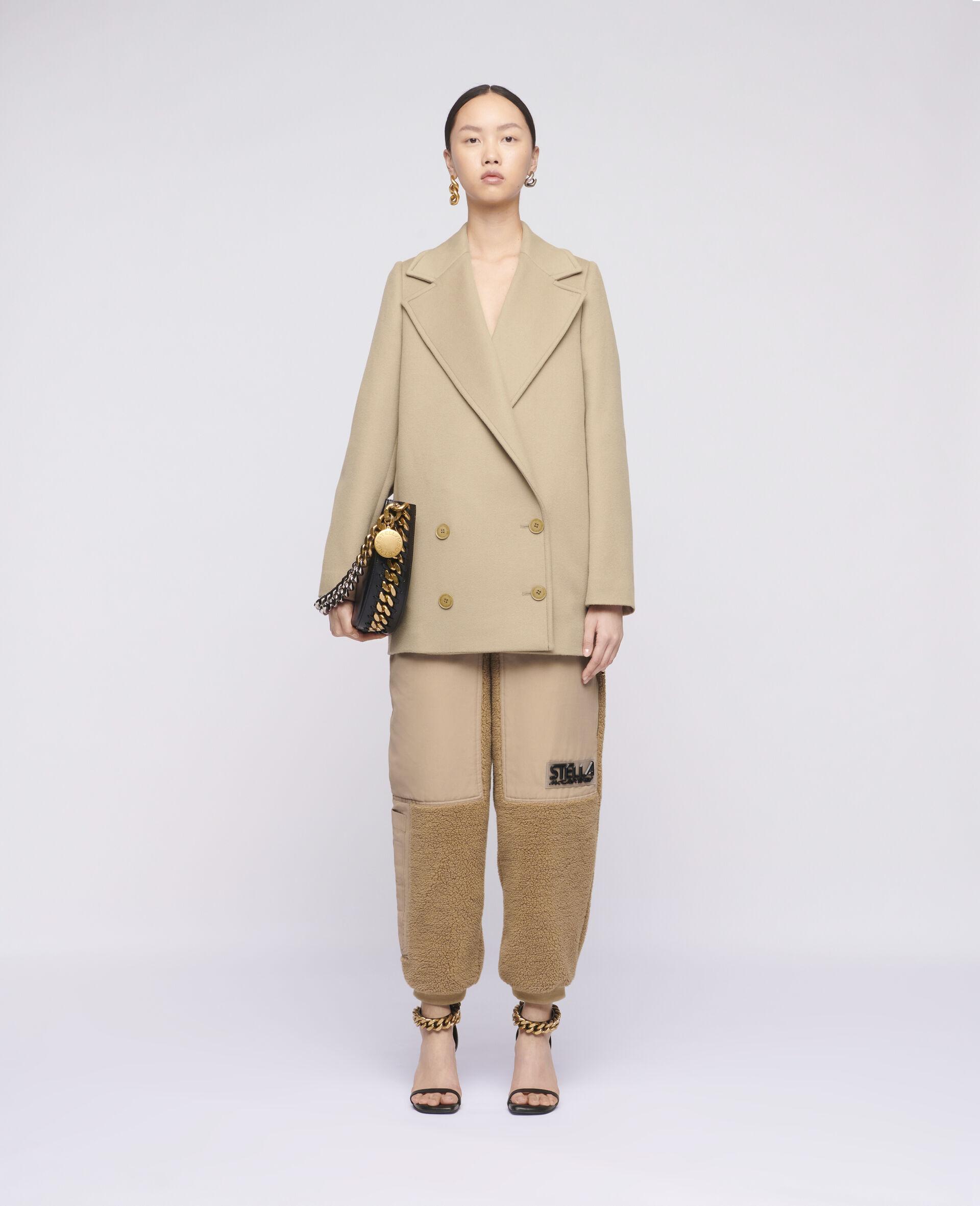 Karina Wool Coat-Brown-large image number 1