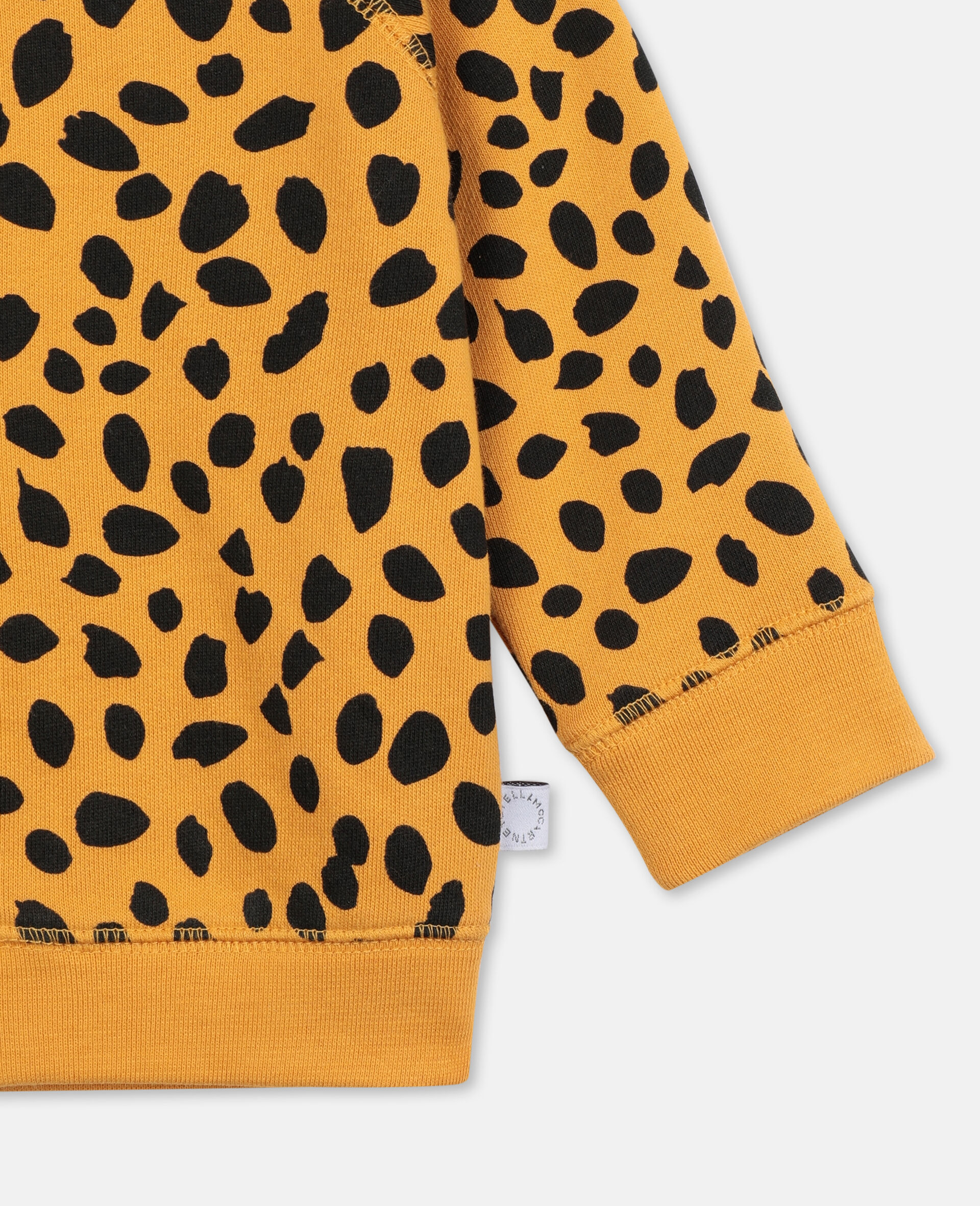Cheetah Dots 棉质连帽衫 -Multicolored-large image number 1