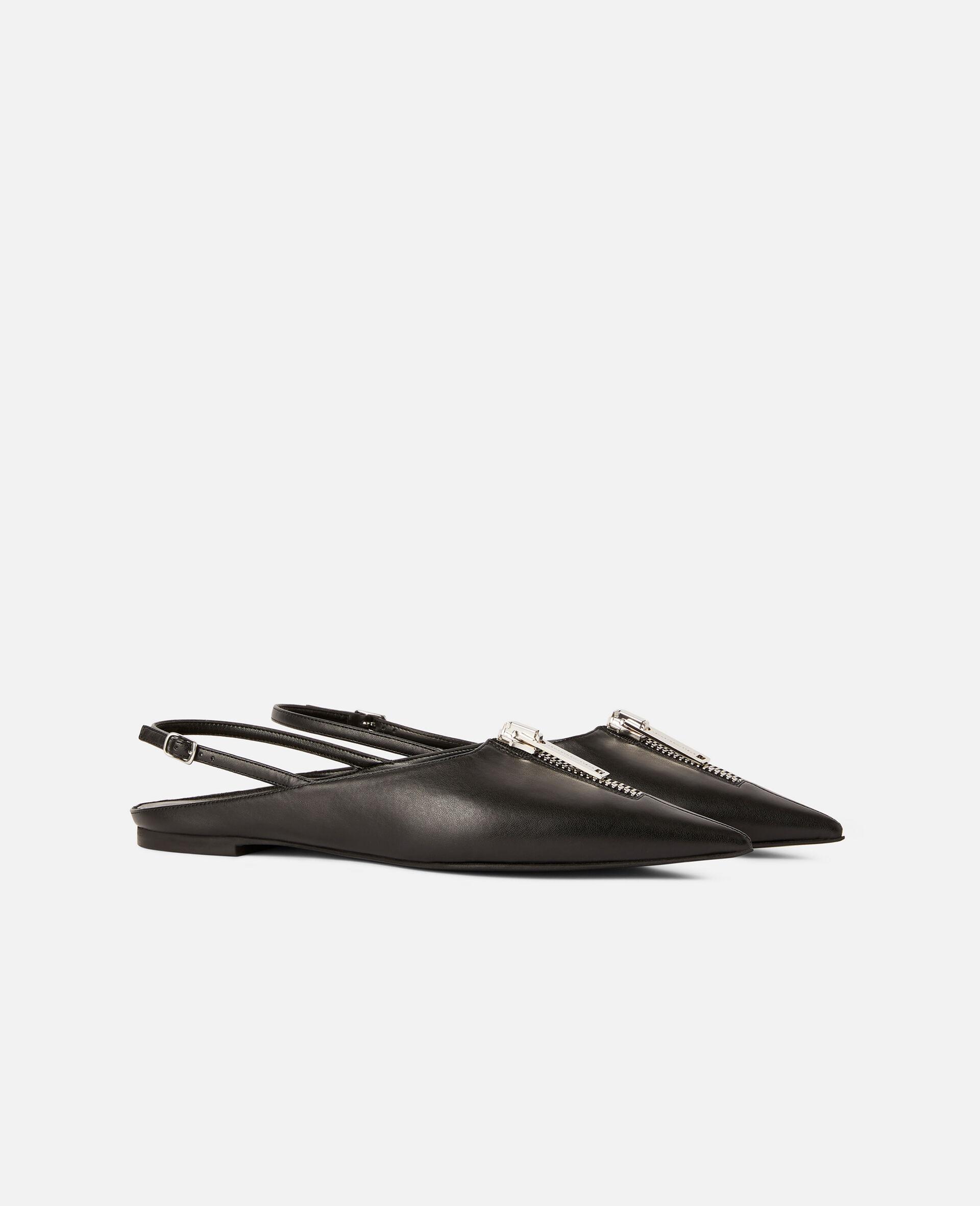 Zipit 平底鞋-黑色-large image number 1