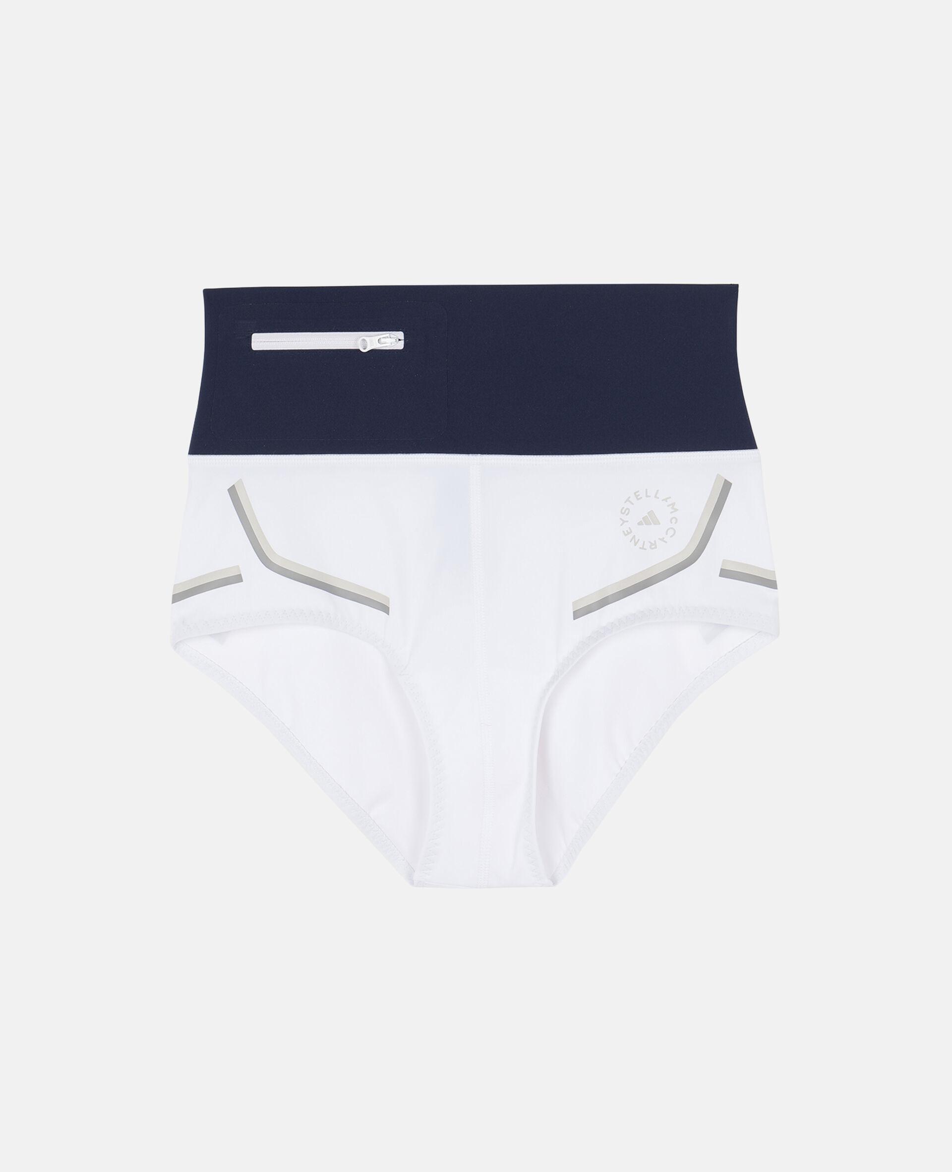 White Beach Defender Bikini Shorts-White-large image number 0