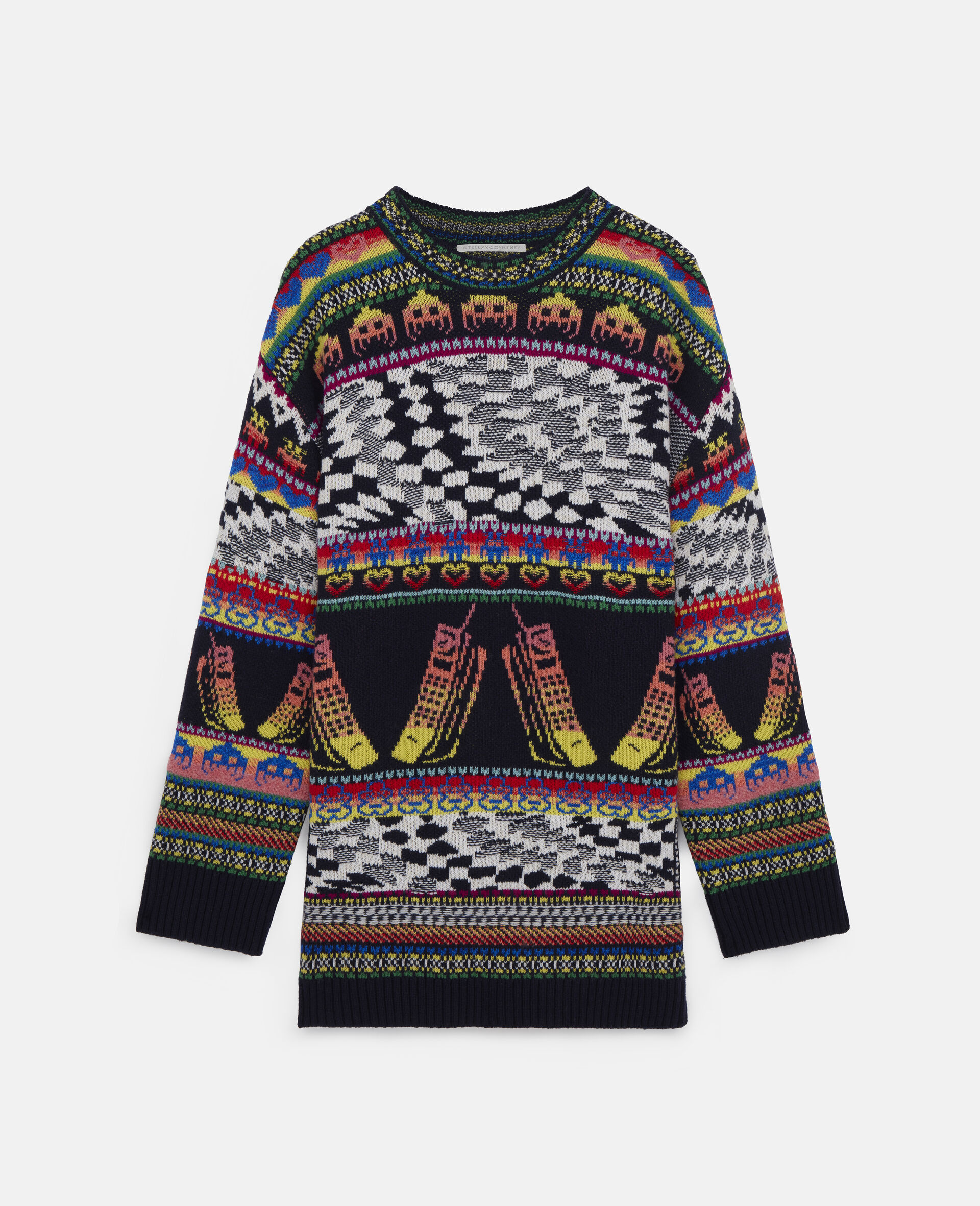 """Maglione corto """"Keep In Touch""""-Fantasia-large image number 0"""