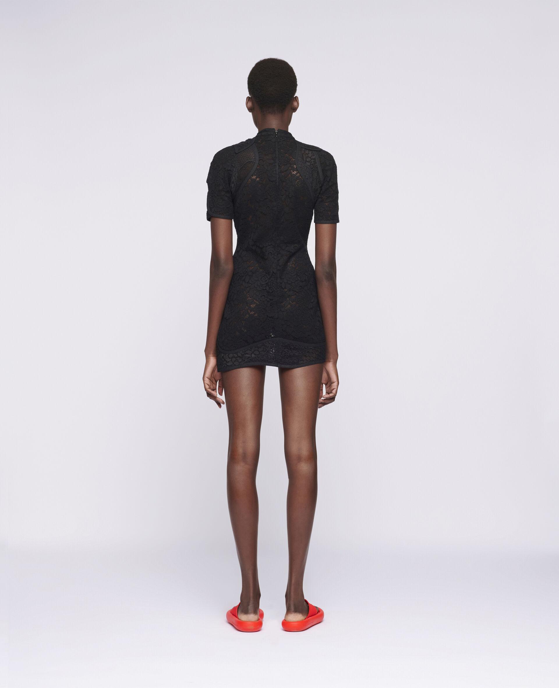 Edith Mini Dress-Black-large image number 2