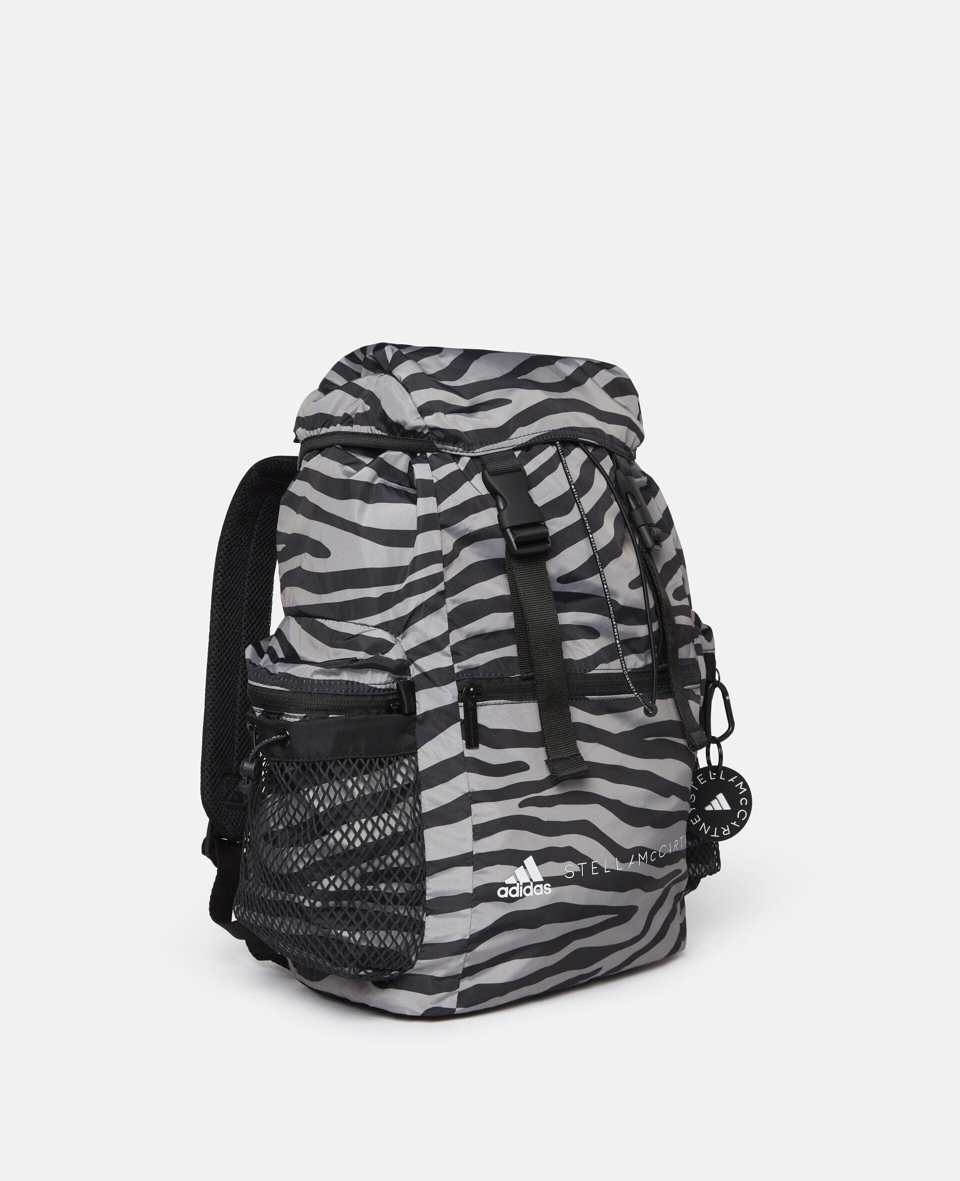 Printed Backpack-Multicolour-large image number 1