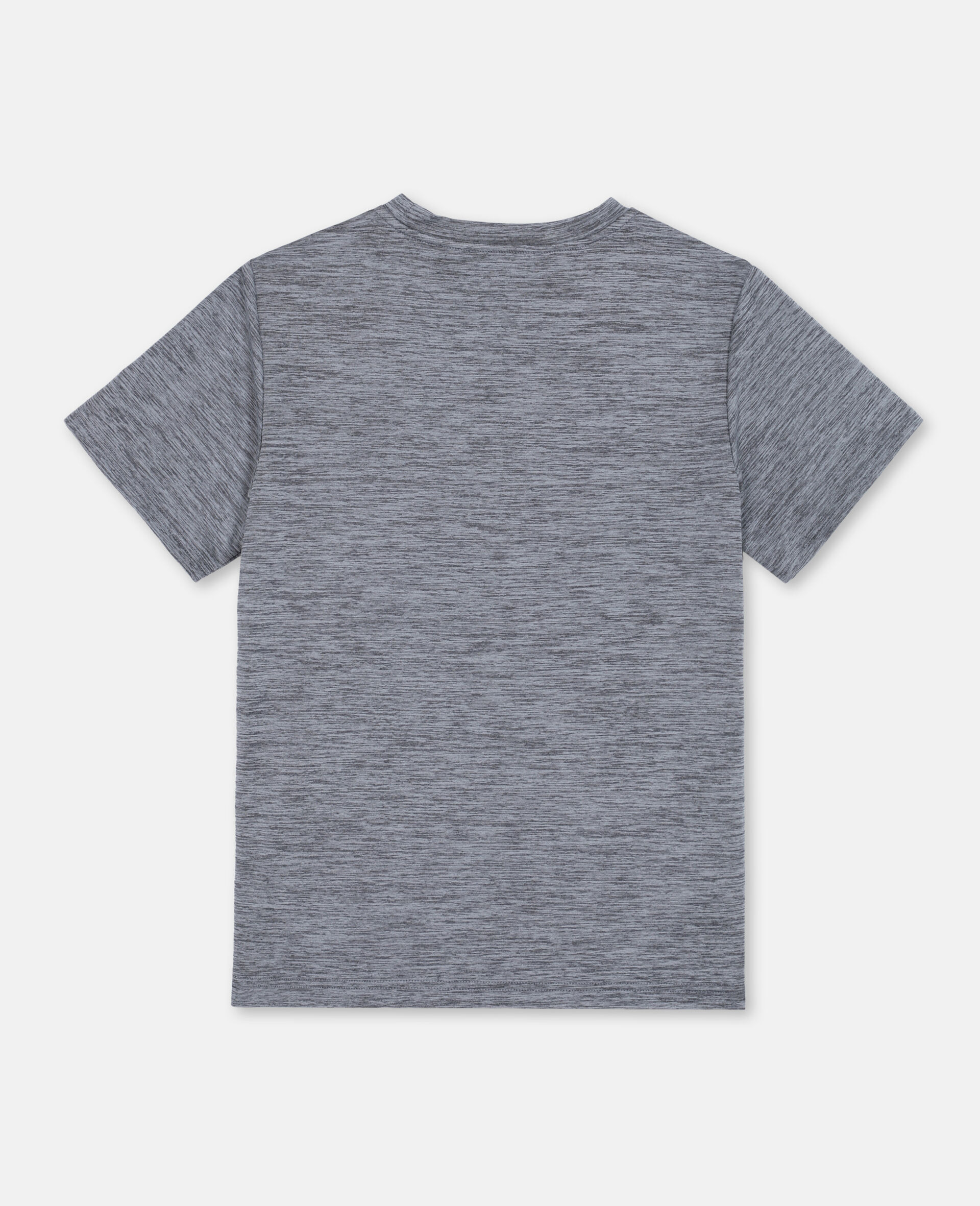 T-Shirt Sportiva Space-Dye -Grigio-large image number 3