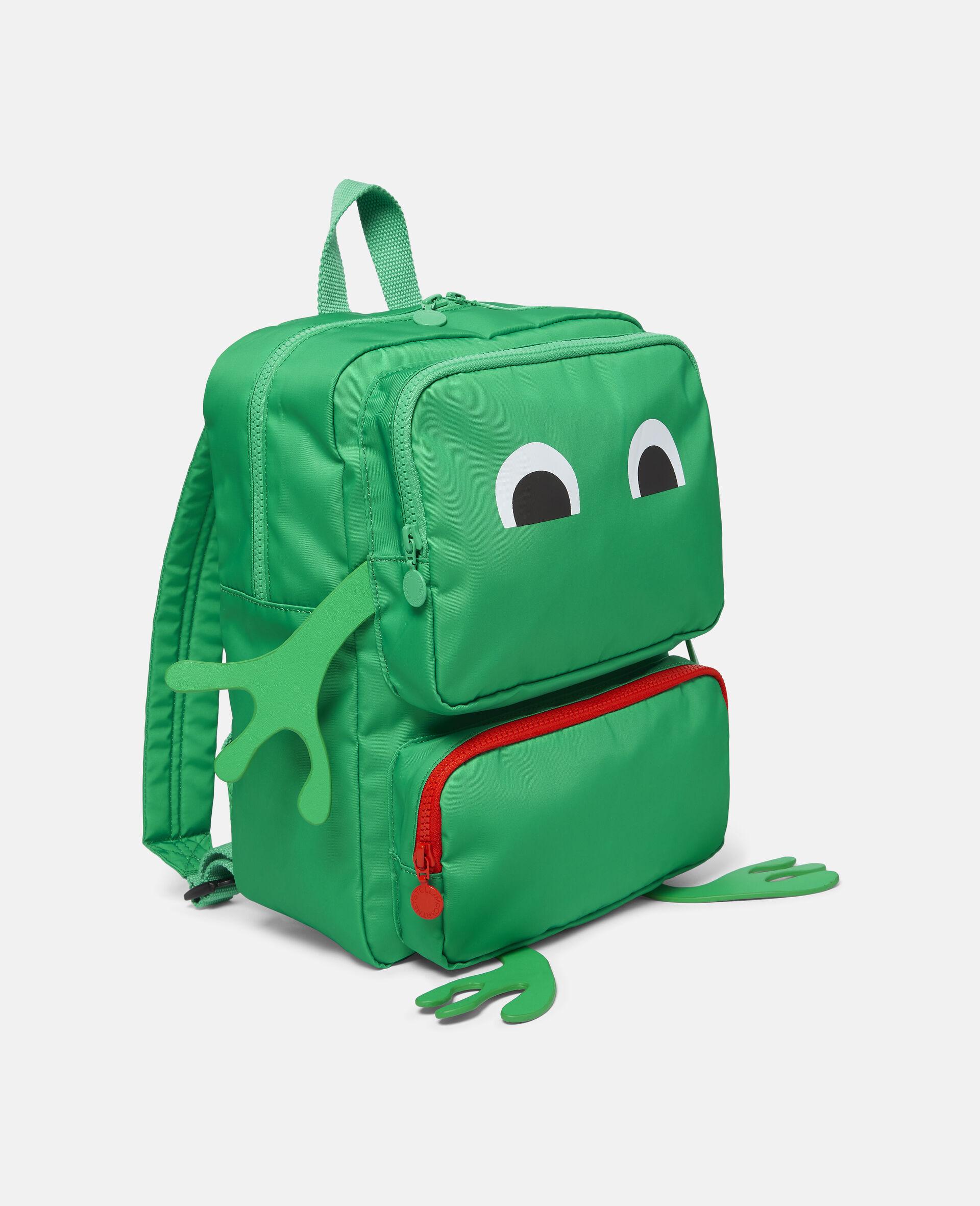 Frog Backpack-Green-large image number 1
