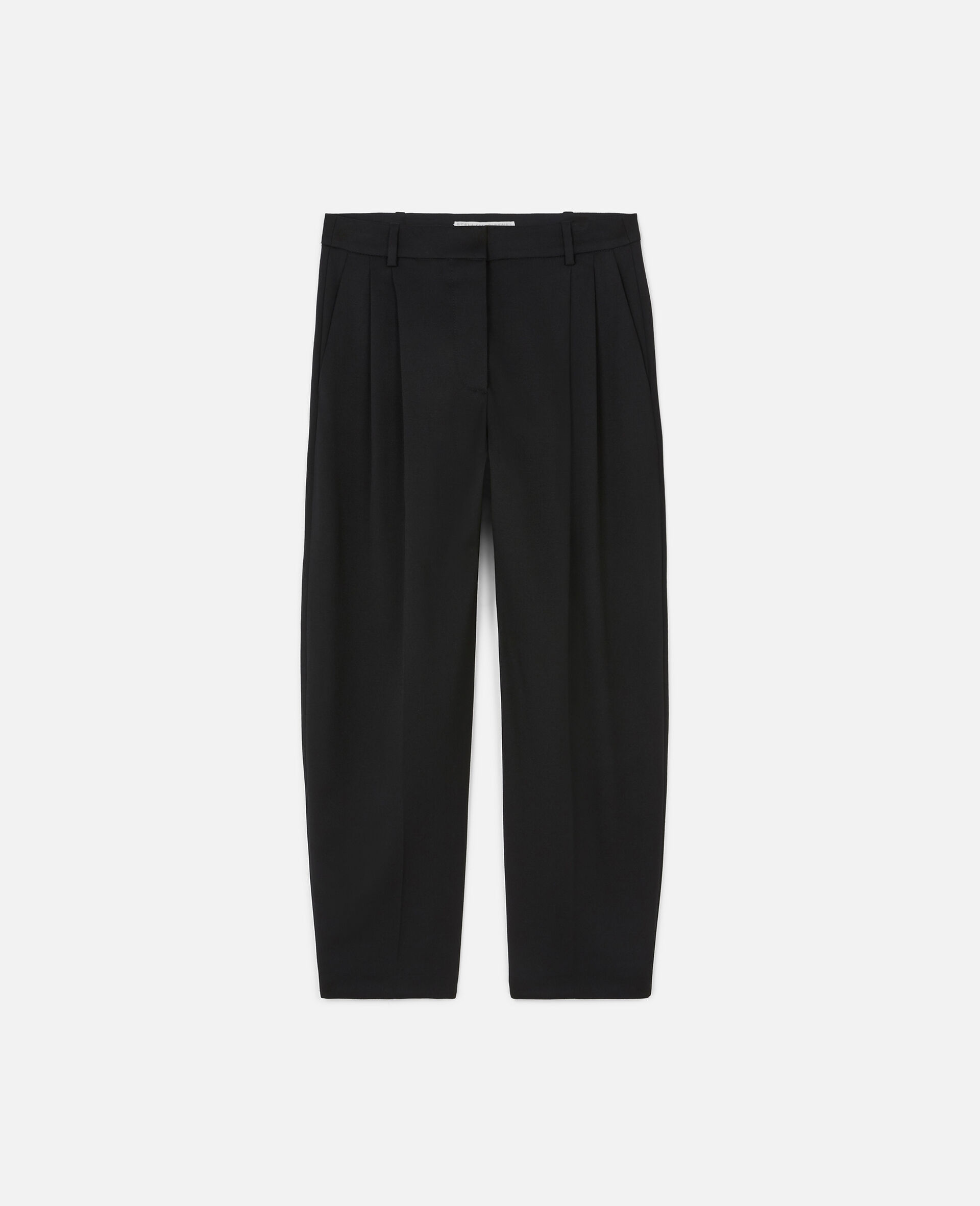 Pantalon ajusté Dawson-Noir-large image number 0