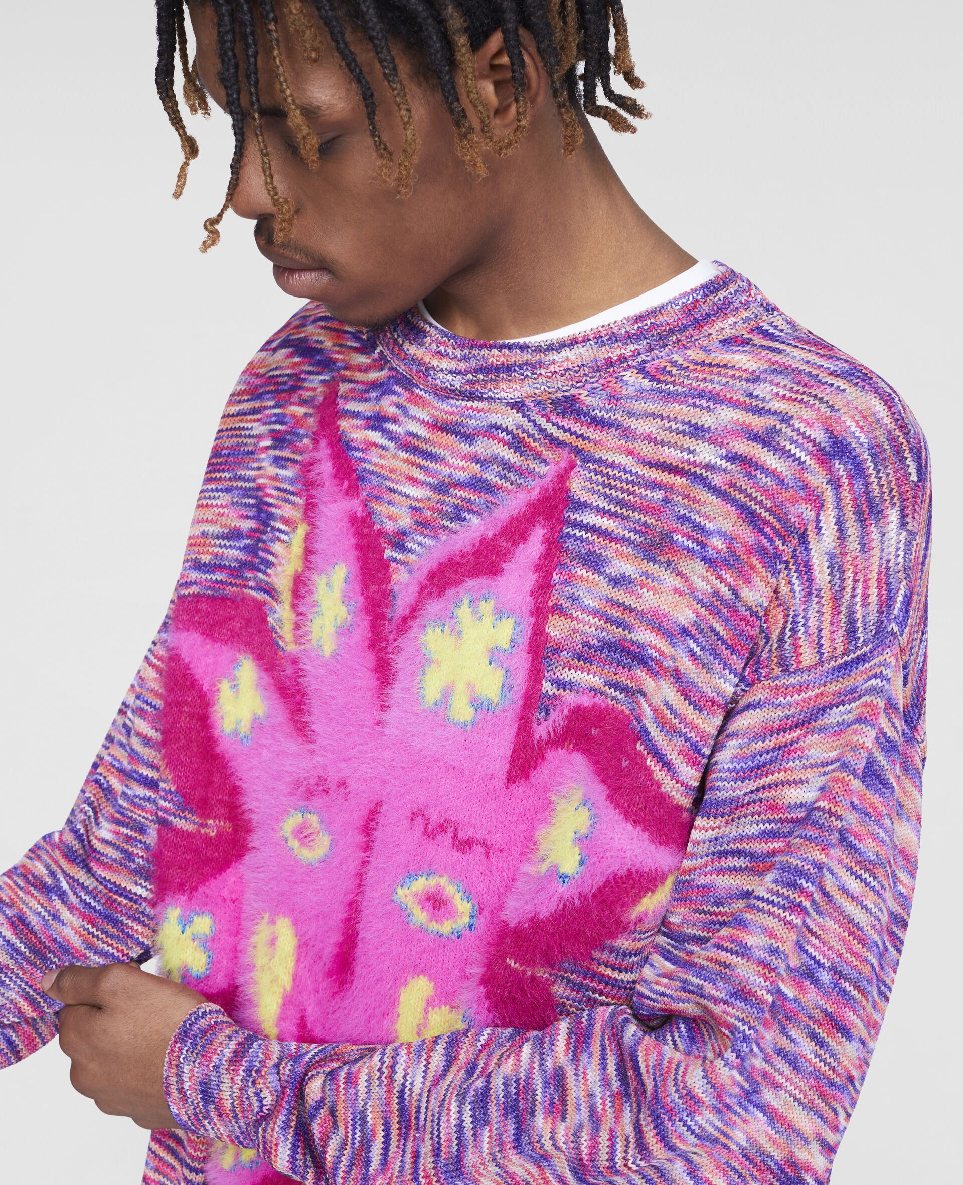 Myfawnwy Jumper -Multicolour-large image number 4