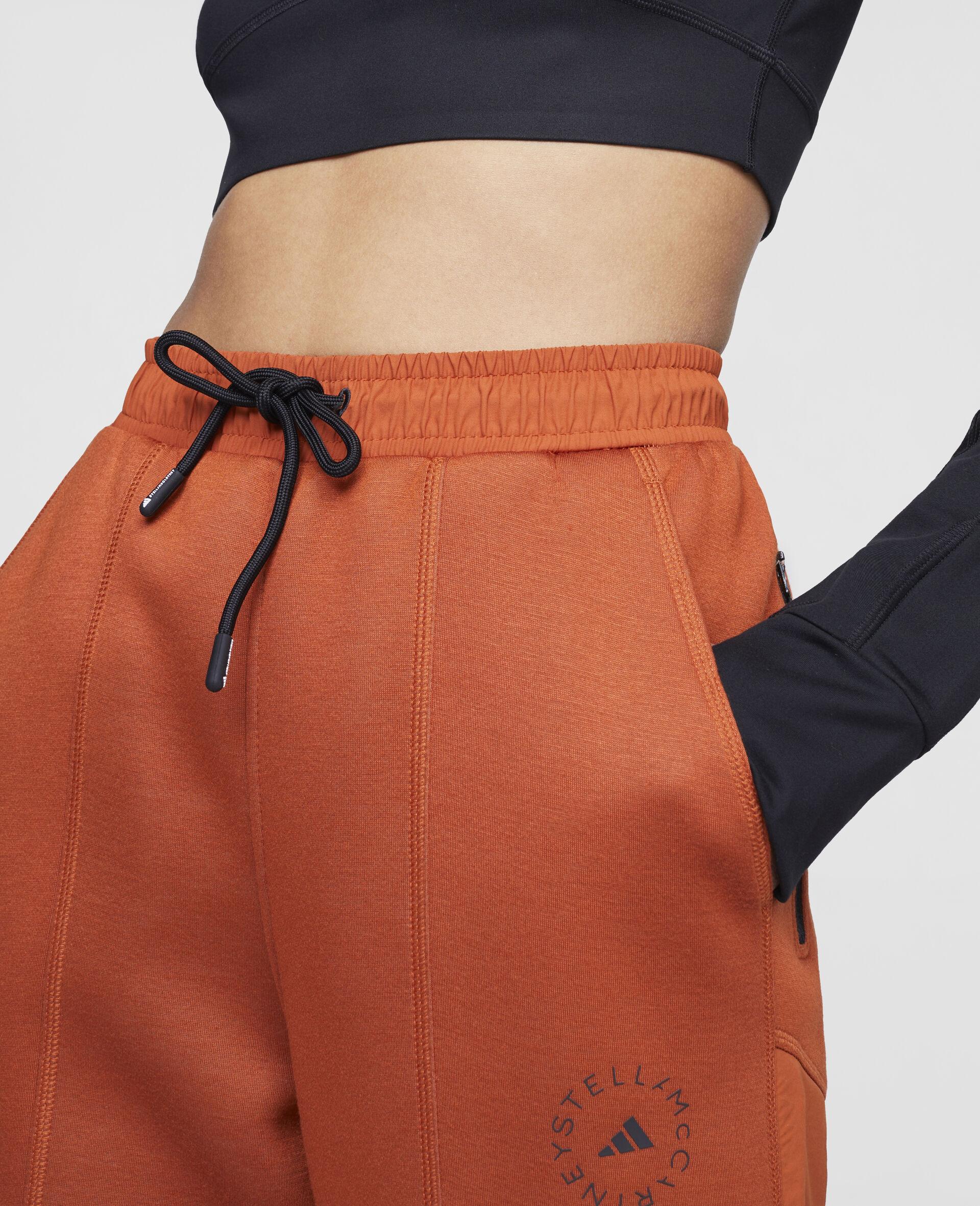 Burnt Brick Track Pants-Orange-large image number 3