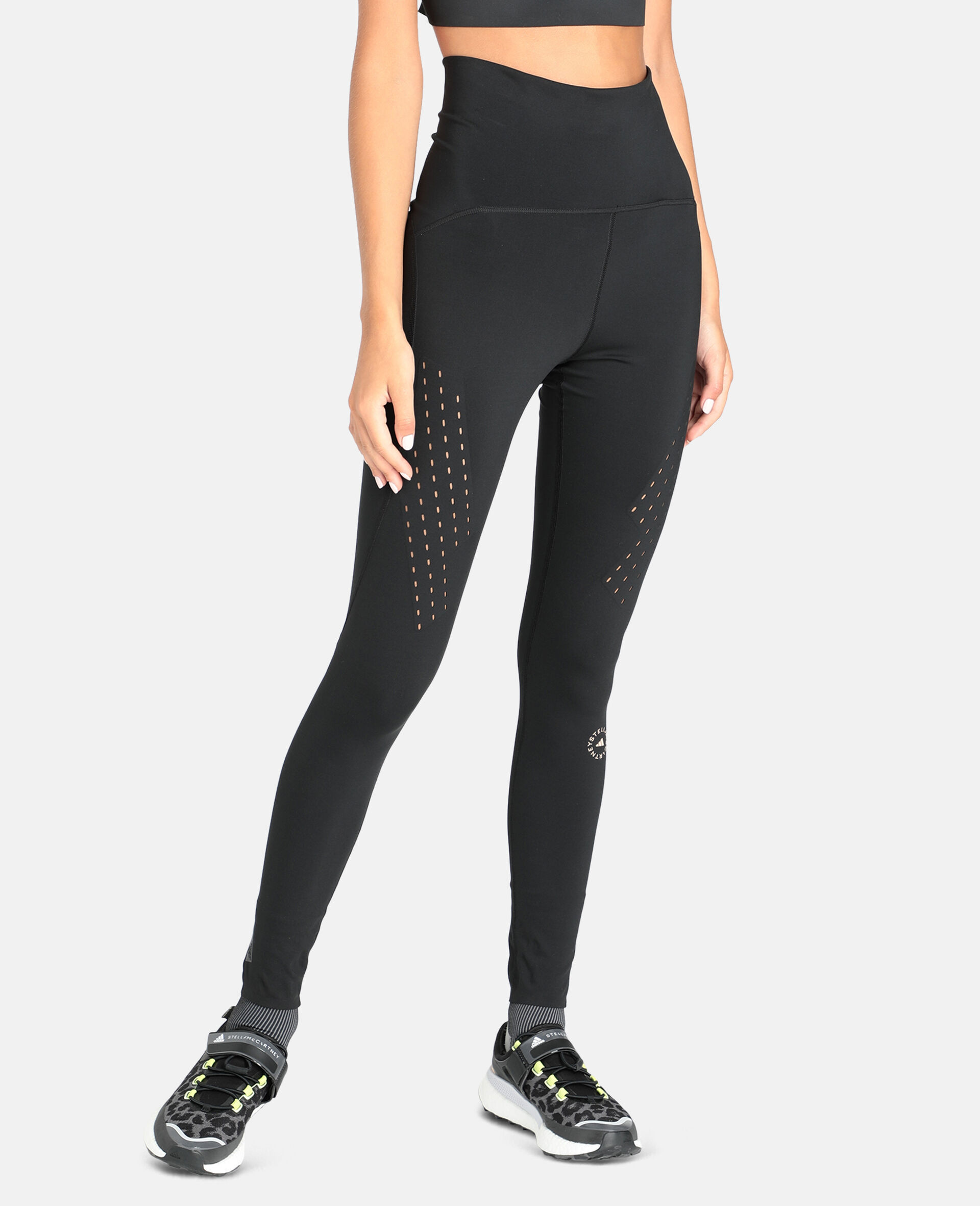Black TruePurpose Training Tights-Black-large image number 4