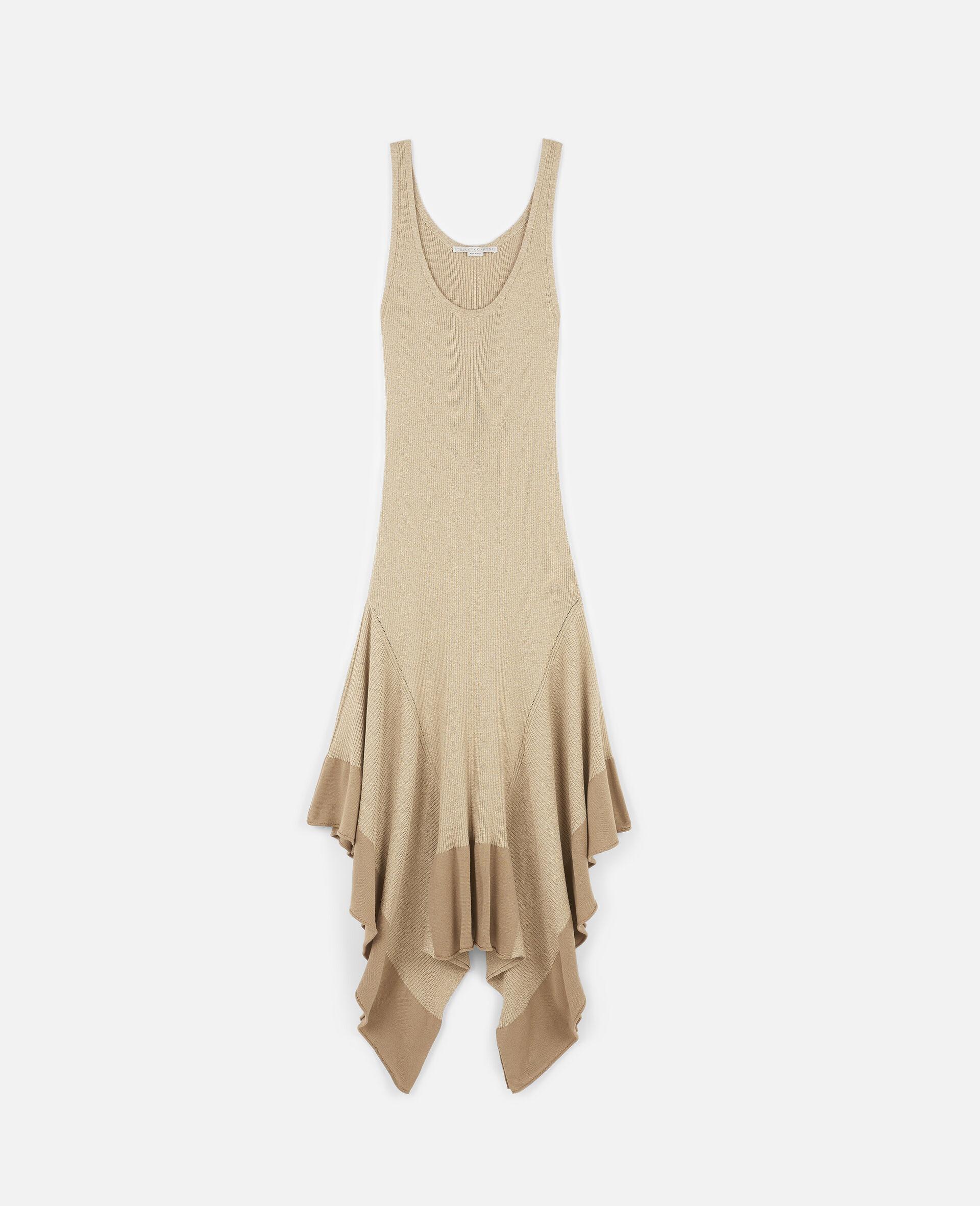 Sleeveless Maxi Dress-Beige-large image number 0