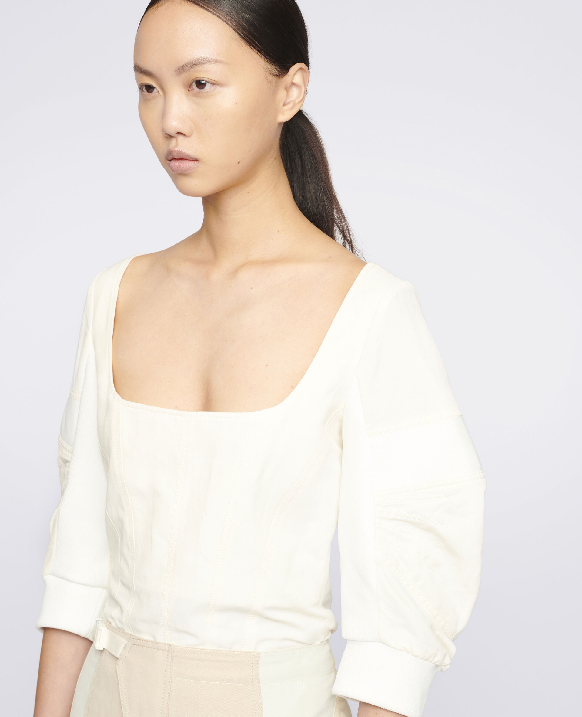 Fiona 上衣-白色-large image number 3