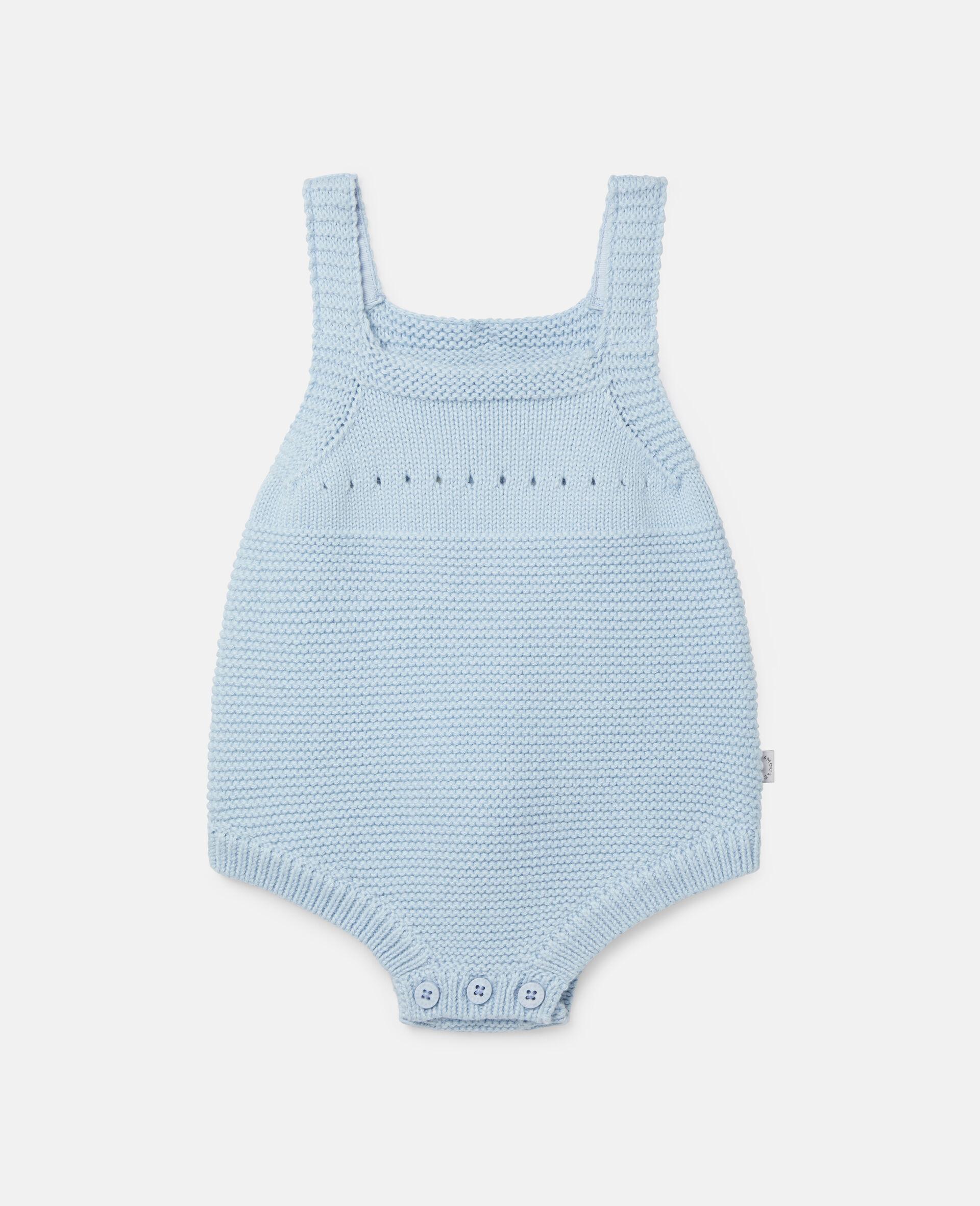 Happy Dog Knit Intarsia Body-Blue-large image number 0