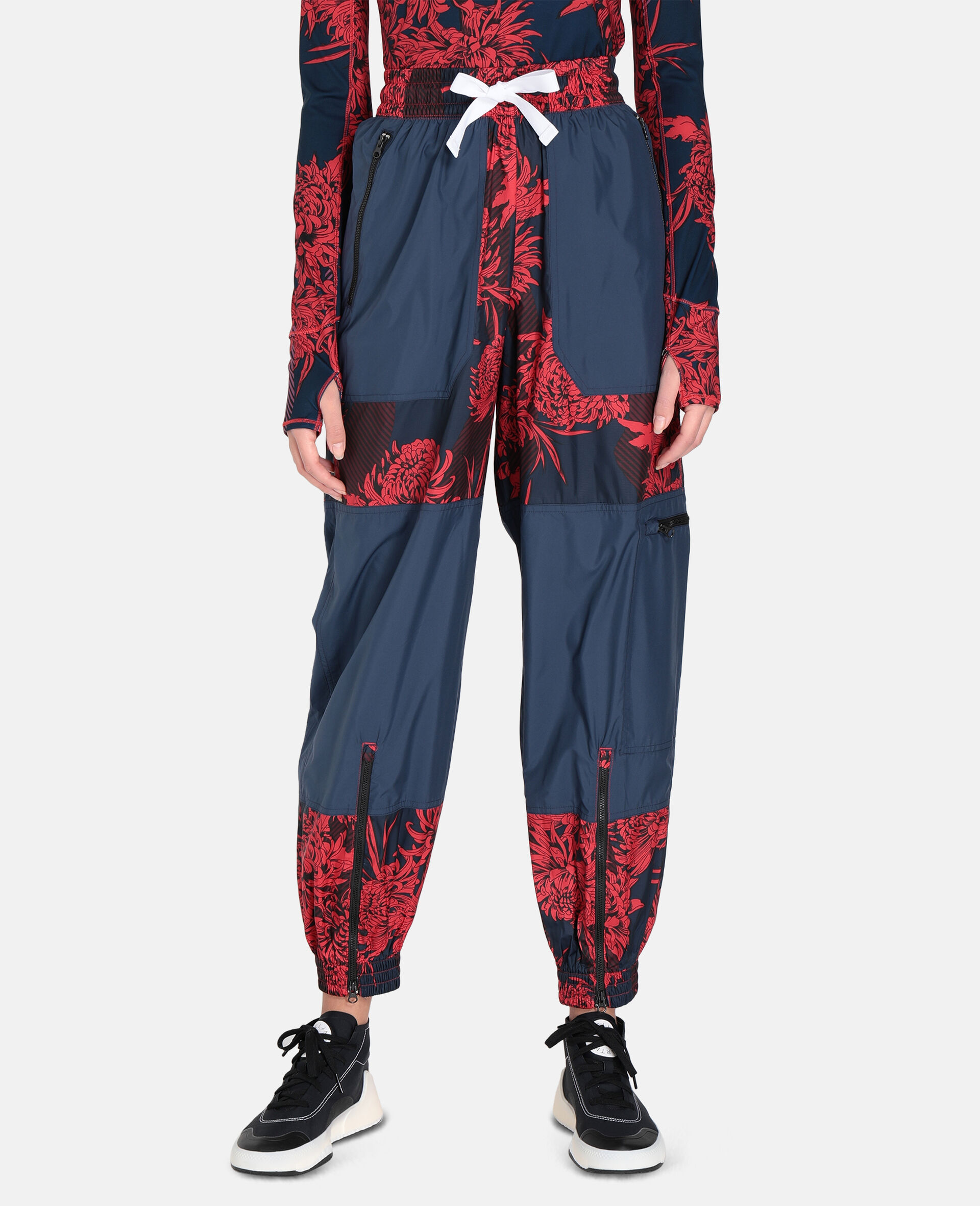 Future Playground Woven Training Trousers-Red-large image number 4