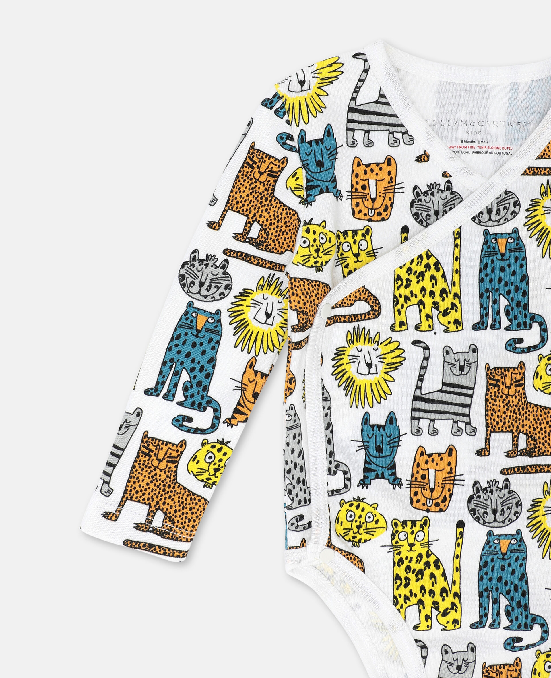 Wild Cats 平纹针织罗纹 Maternity 套装 -Multicolored-large image number 1