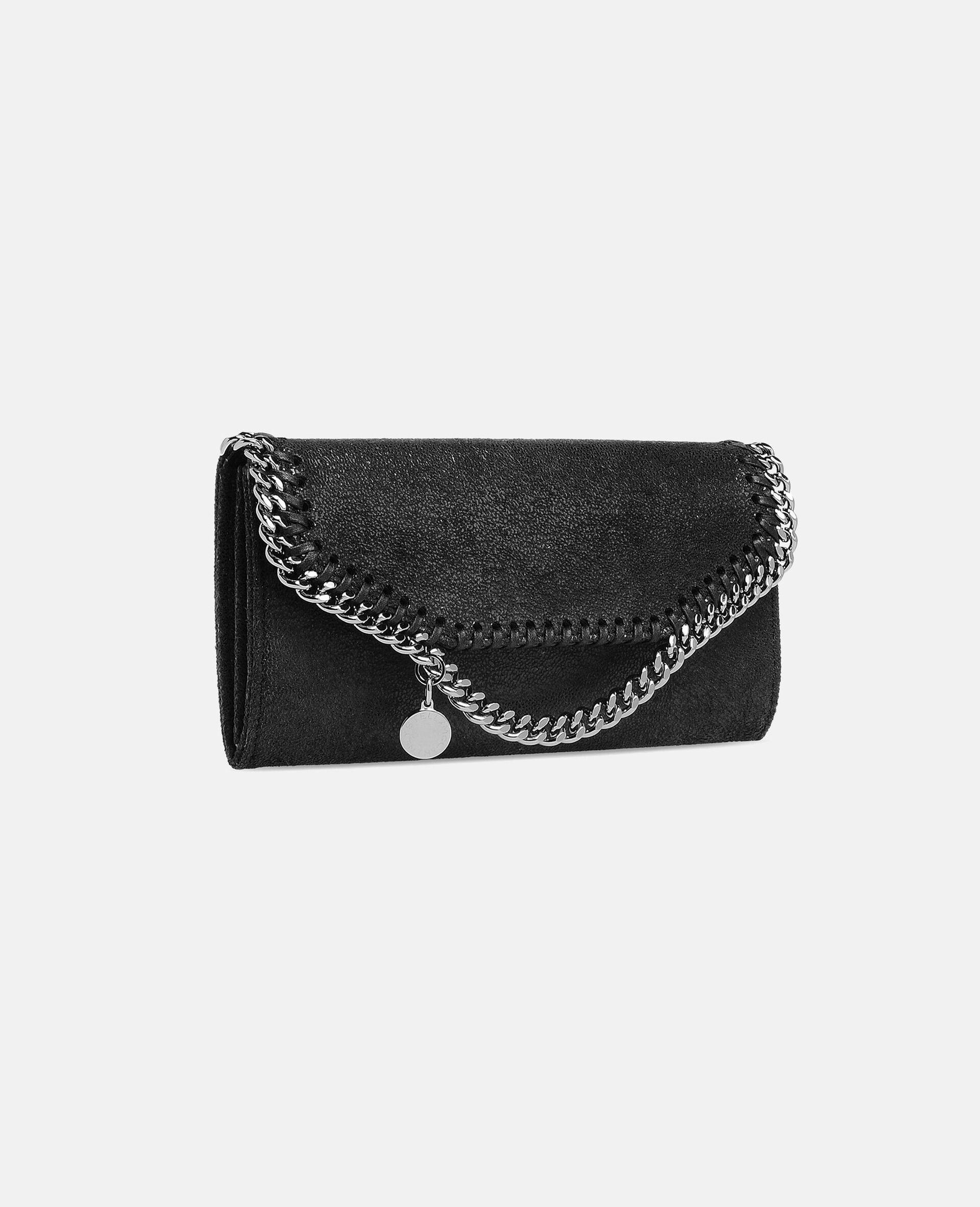 Falabella Continental Wallet-Black-large image number 1