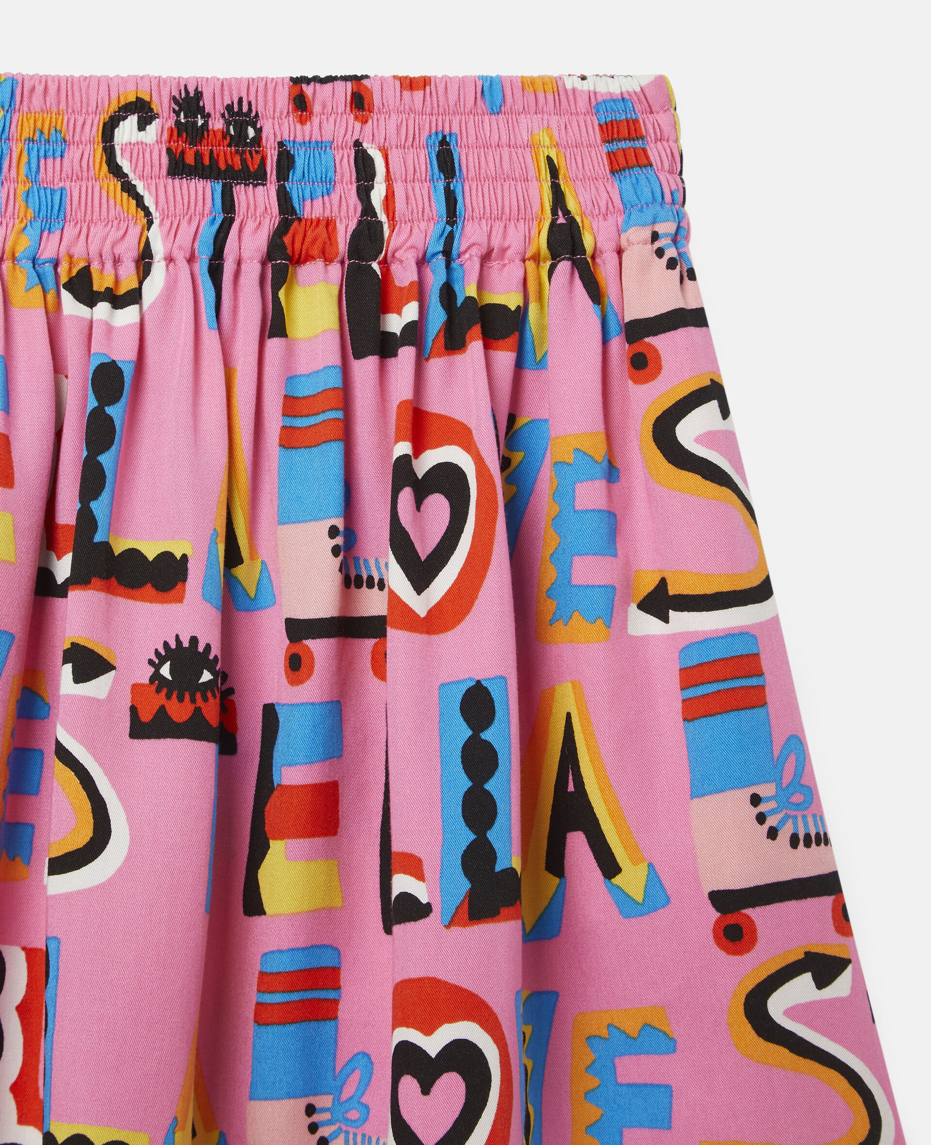 Stella Loves Twill Skirt-Pink-large image number 1