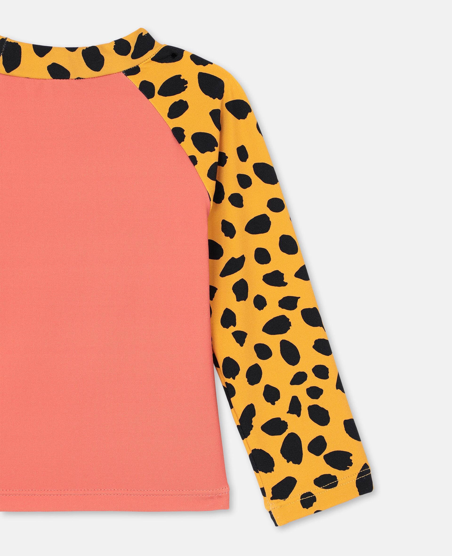Cheetah Swim T-shirt -Red-large image number 2