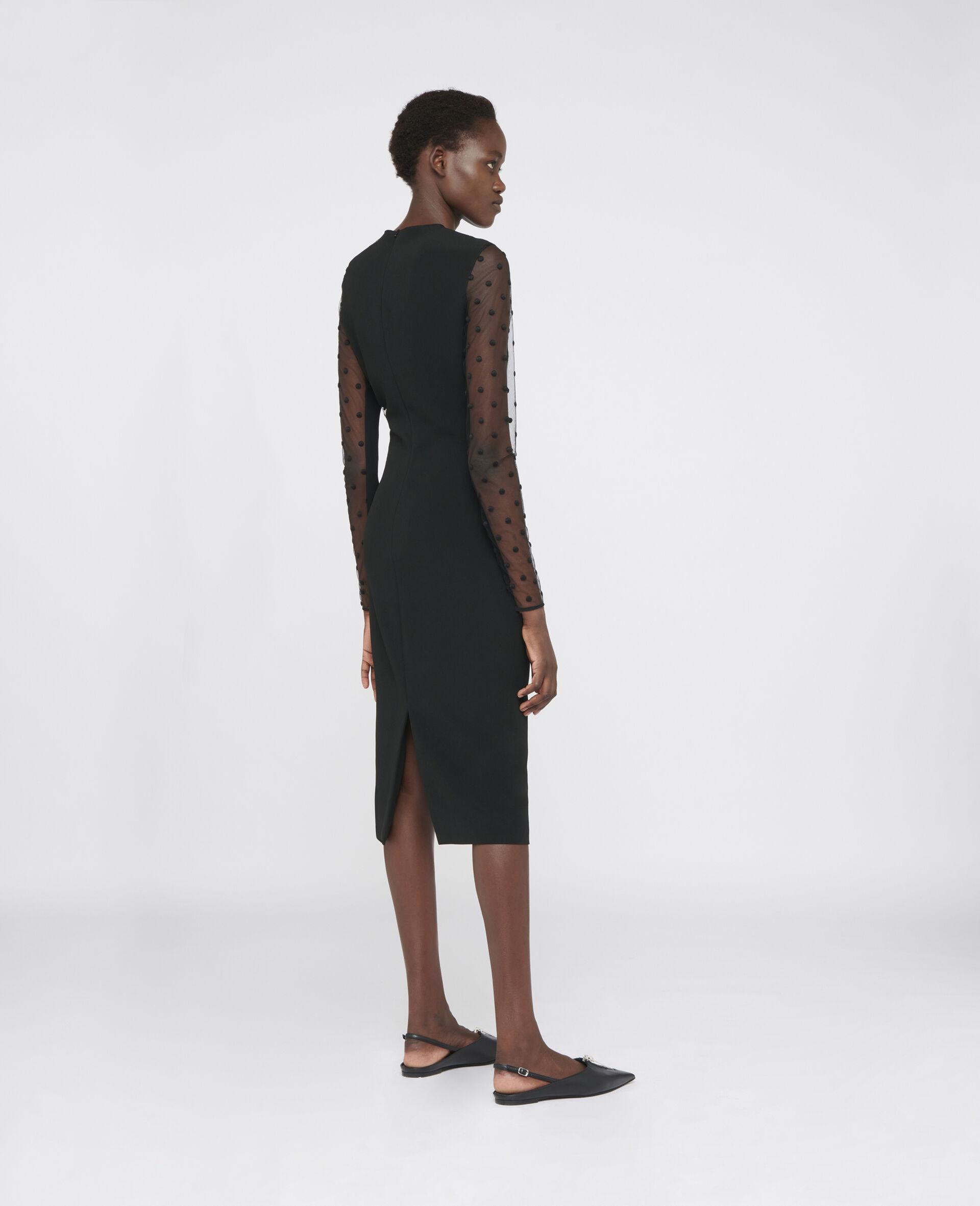 アリエル イブニング ドレス-ブラック-large image number 2