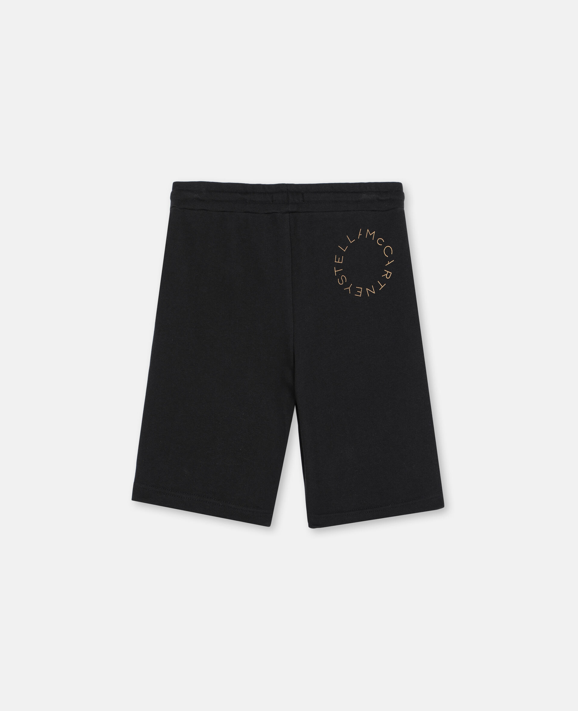 Palm Cotton Shorts -Black-large image number 3
