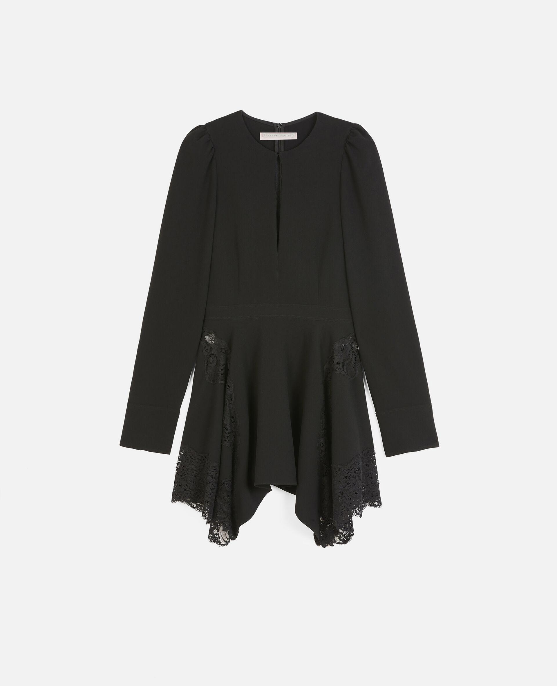 Celeste 迷你连衣裙-黑色-large image number 0